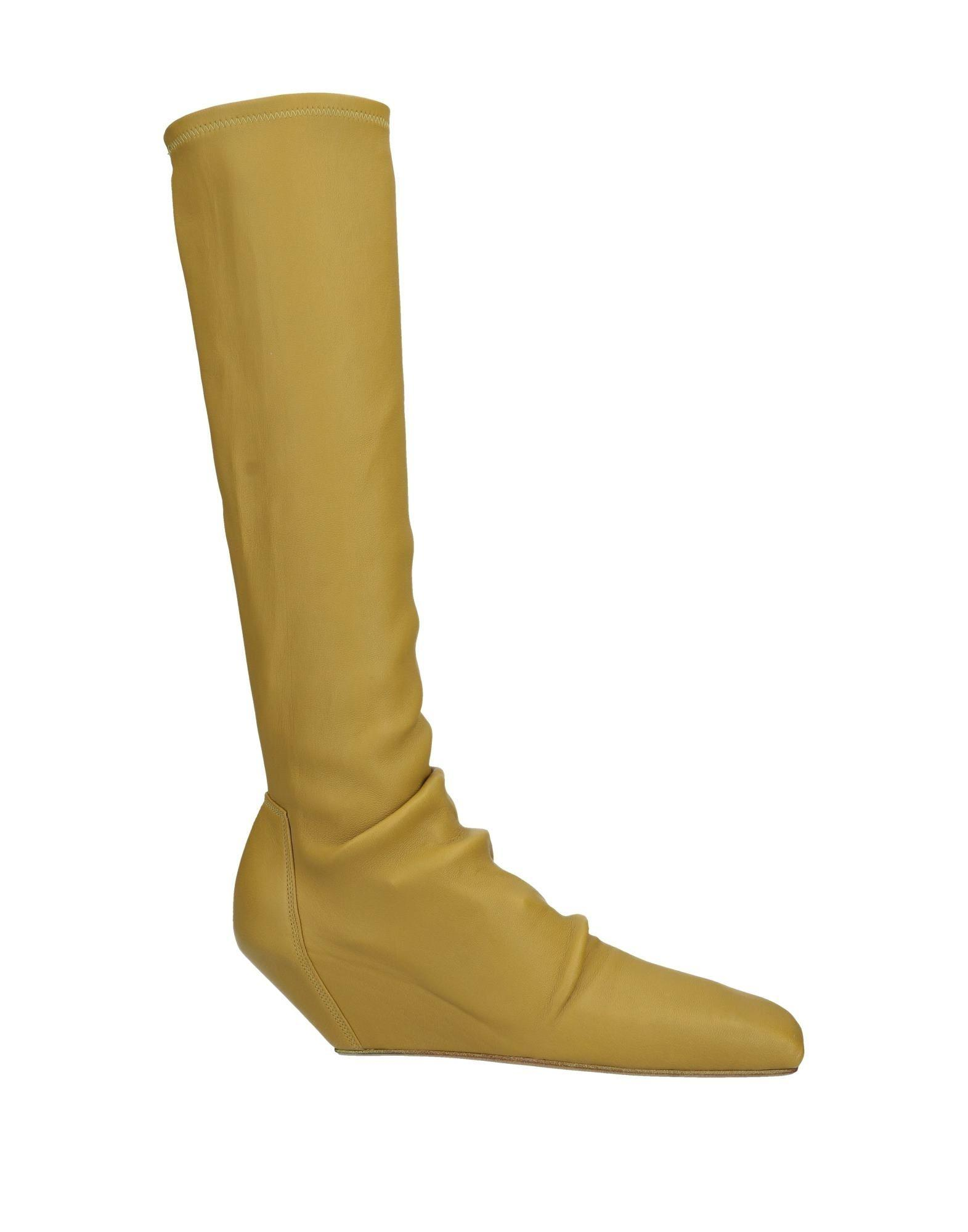 8545c24c96f Lyst - Rick Owens Boots in Green