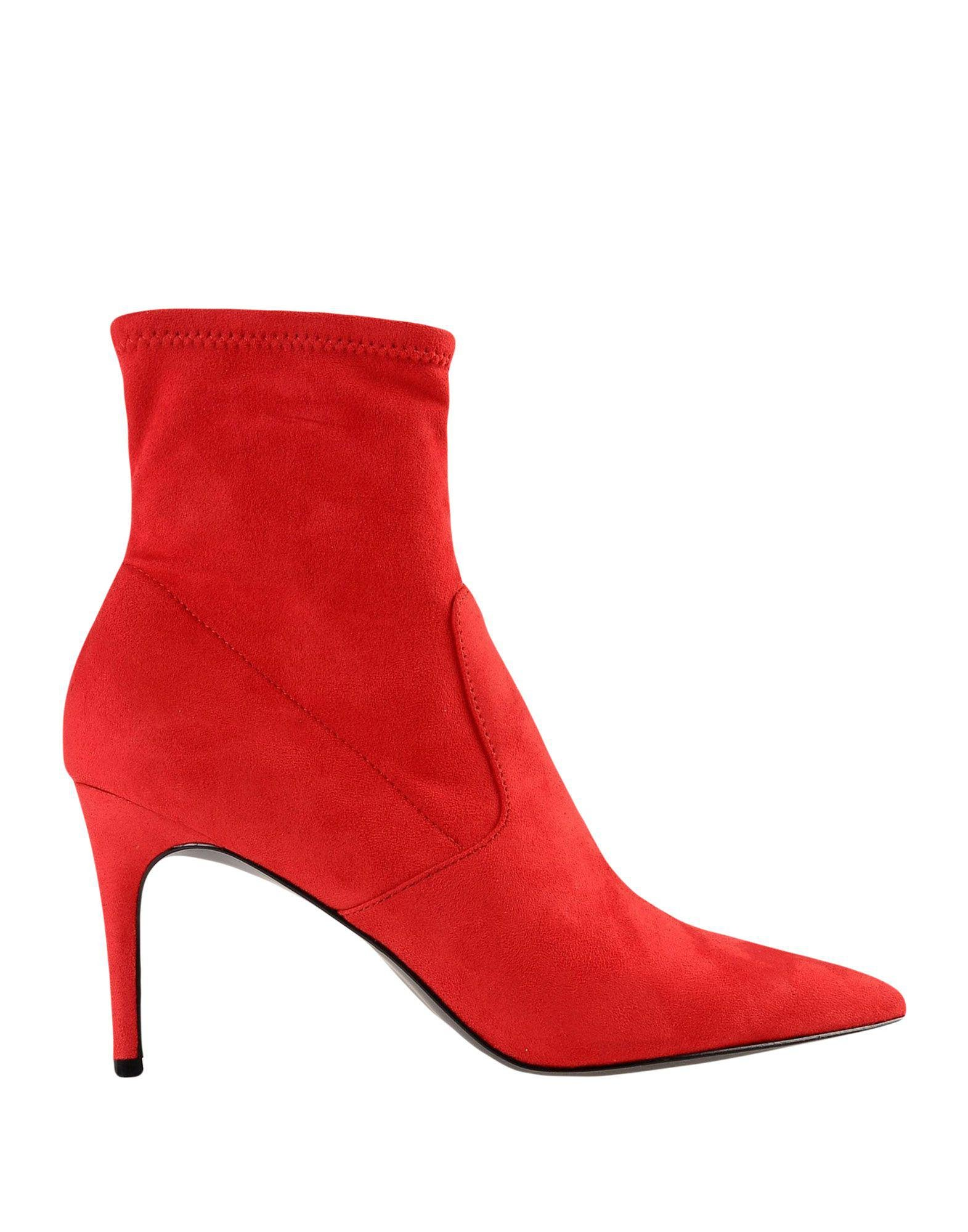 f1a327e3c Lyst - Steve Madden Ankle Boots in Red - Save 16%