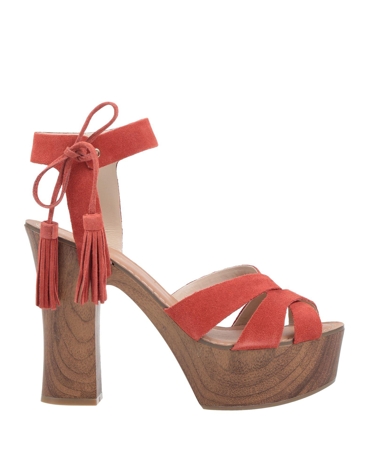 381993484c5b Lyst - Guess Sandals in Red