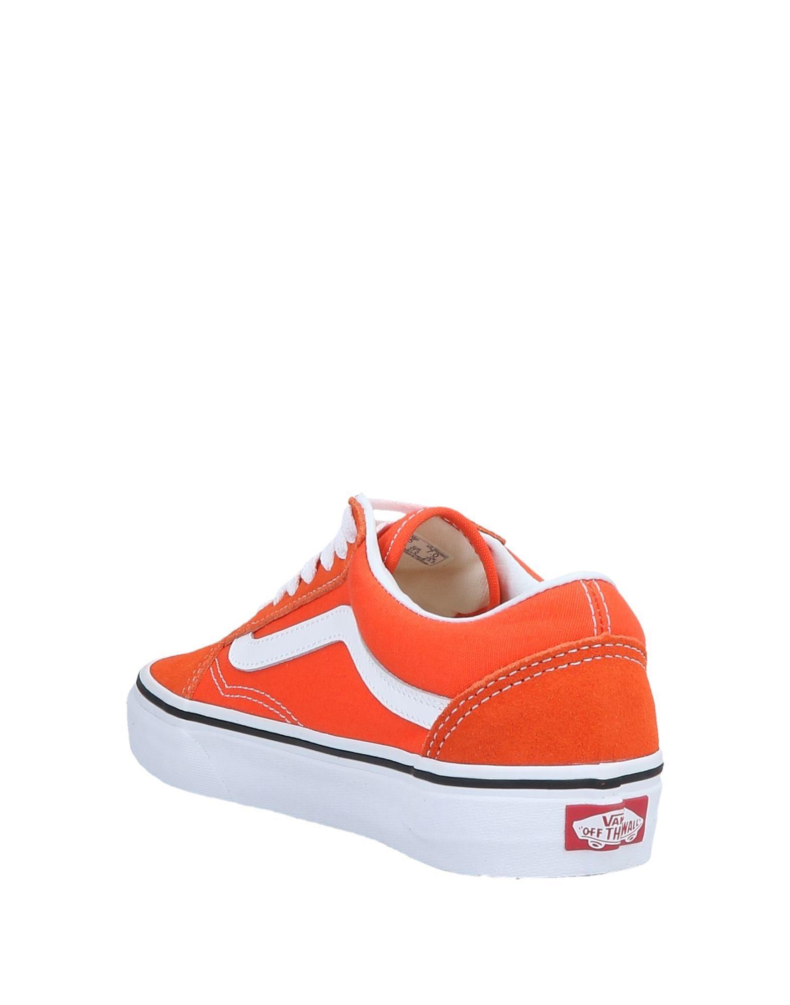 Lyst - Vans Low-tops   Sneakers in Orange aba2ac1a3