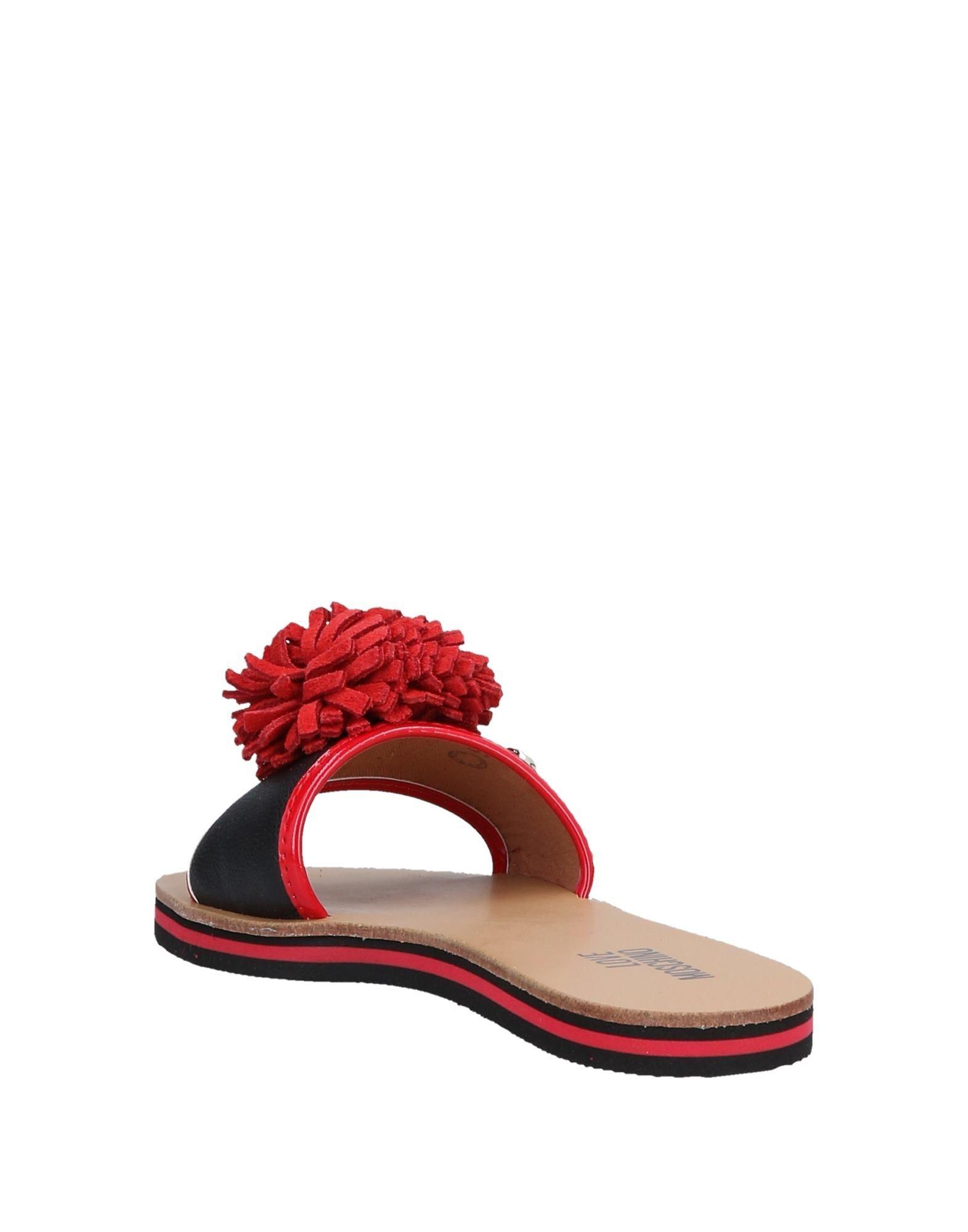 550c35a7a4c7 Lyst - Love Moschino Sandals in Black