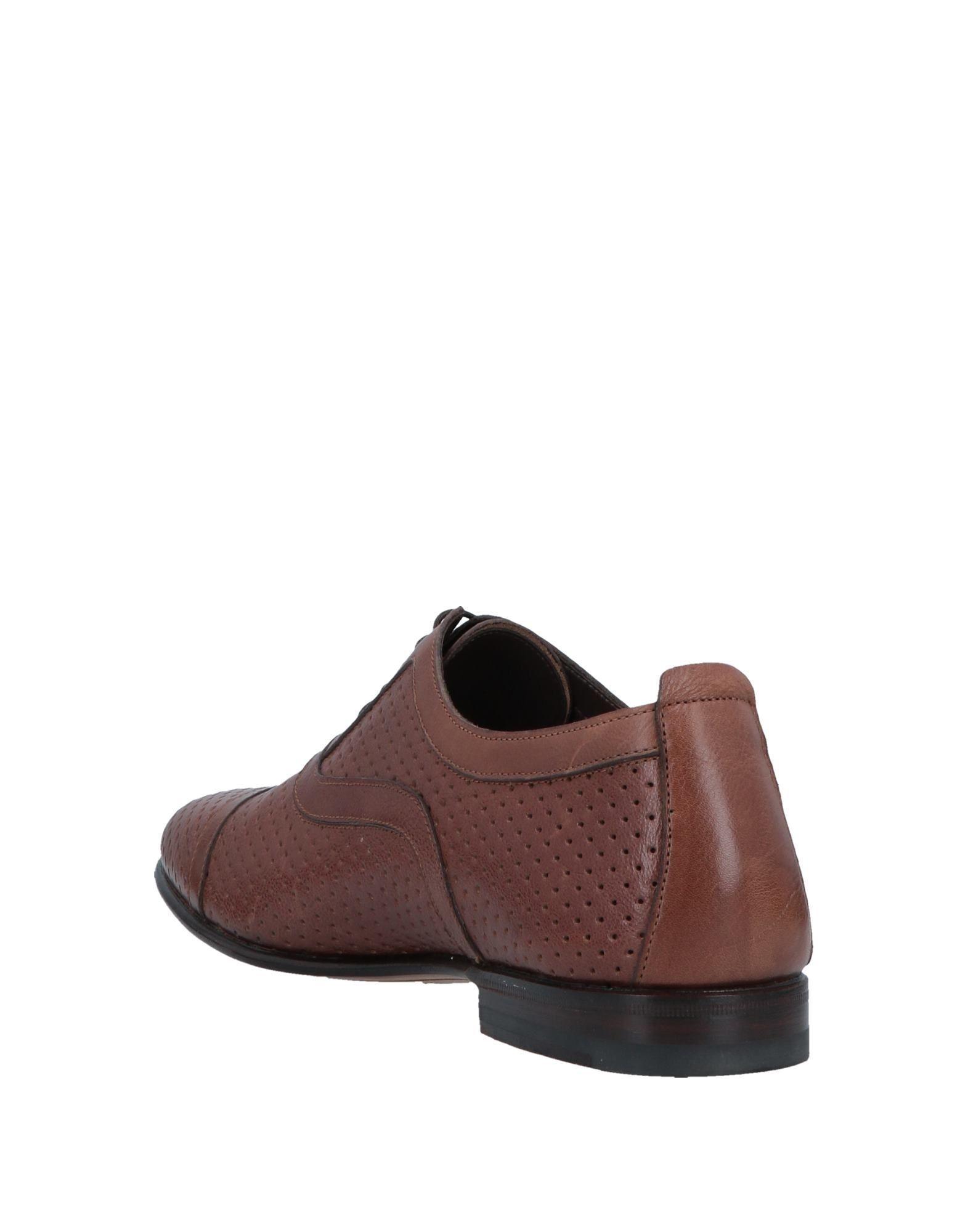 a73d788038f8c0 Lyst - Santoni Lace-up Shoe in Brown for Men