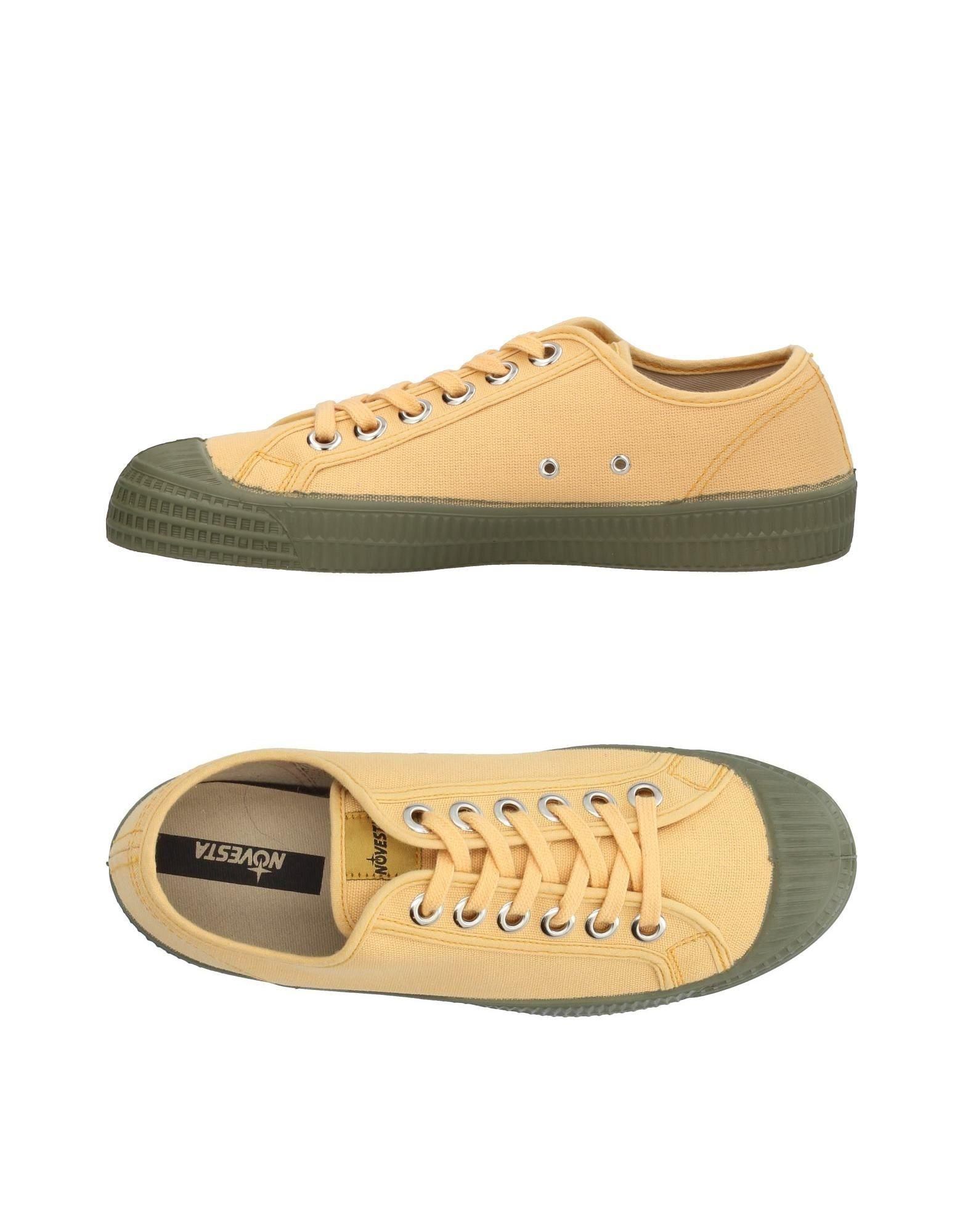 for for Lyst Lyst Lyst tops amp; Yellow Men Low Novesta Sneakers in TqrT0Fw