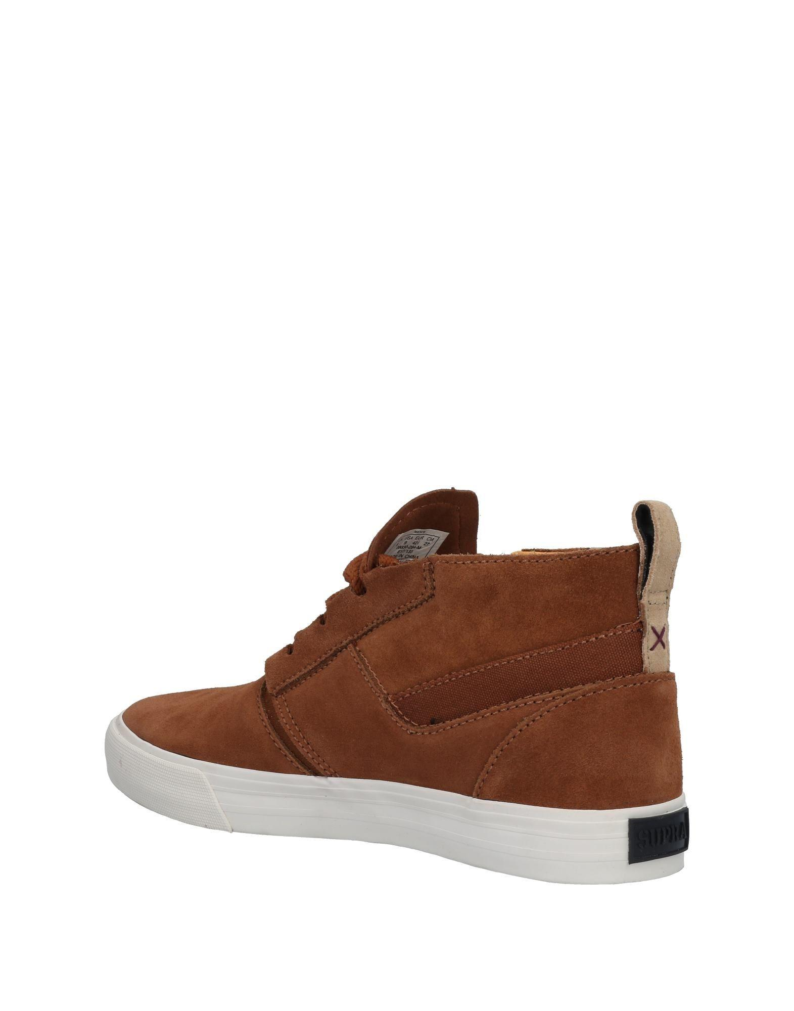 e0026635c748 Lyst - Supra High-tops   Sneakers in Brown for Men