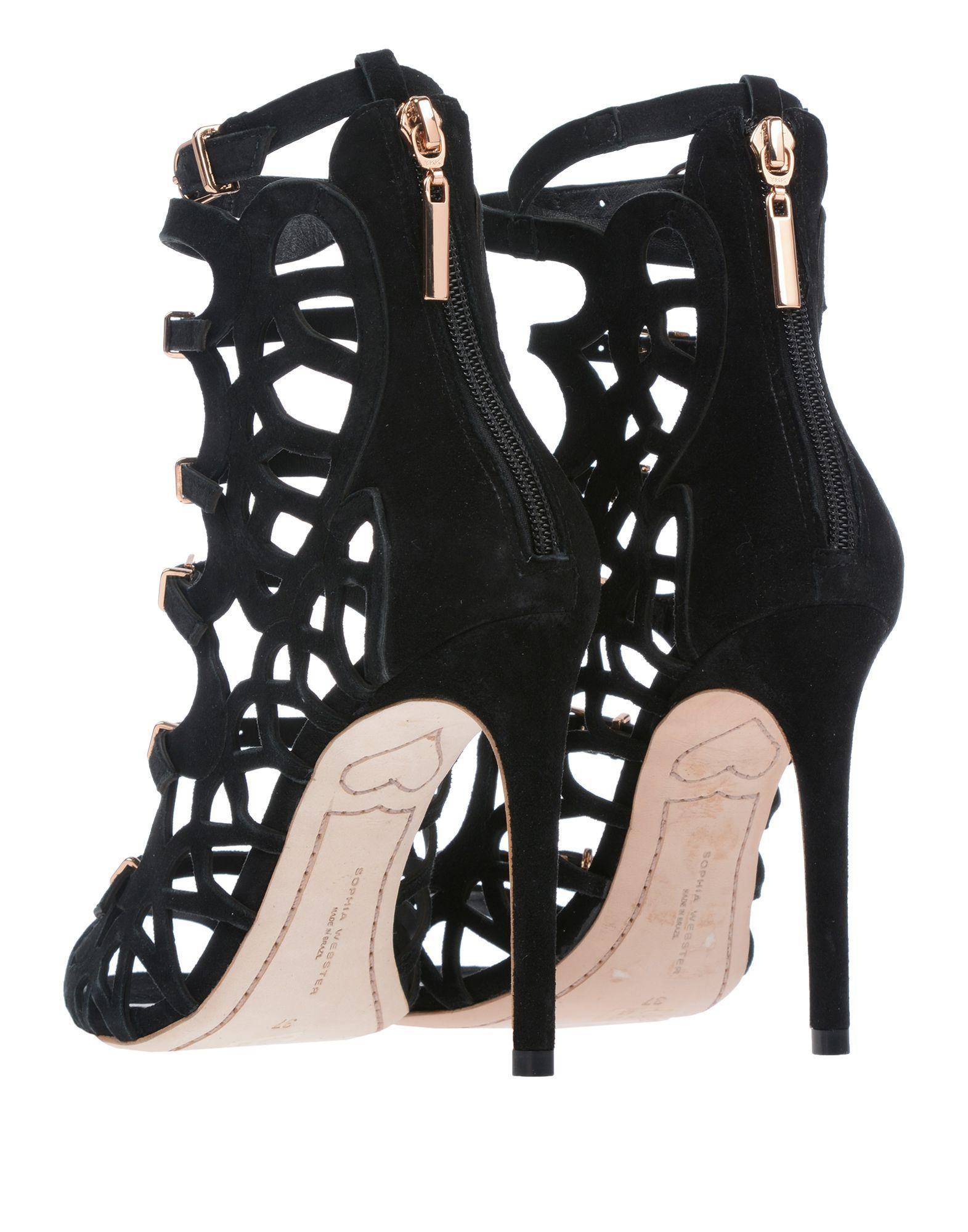7e42fec8f95d Lyst - Sophia Webster Sandals in Black - Save 70%