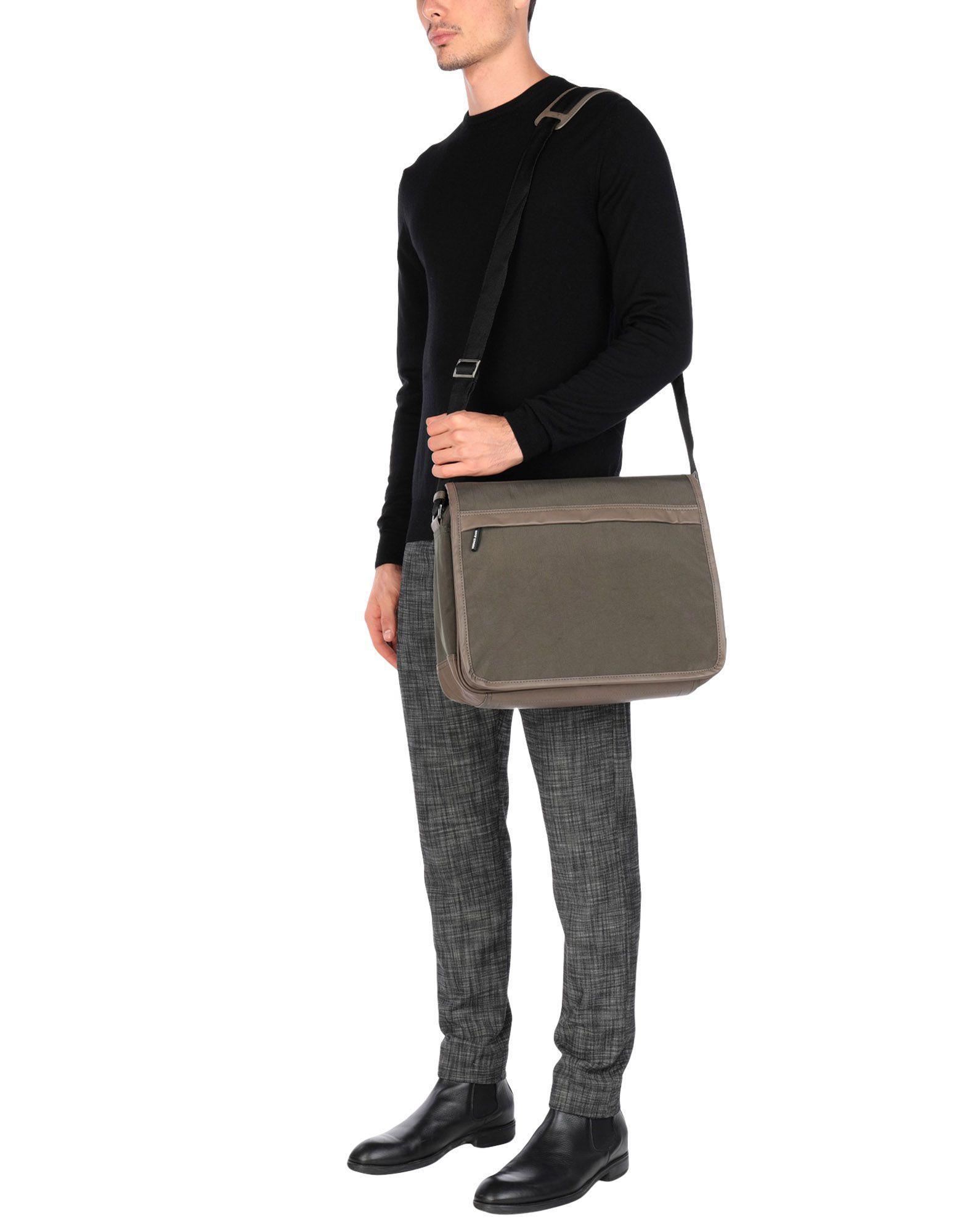 Lyst - Sacs Bandoulière Versace Jeans pour homme en coloris Vert 3a485357fcd