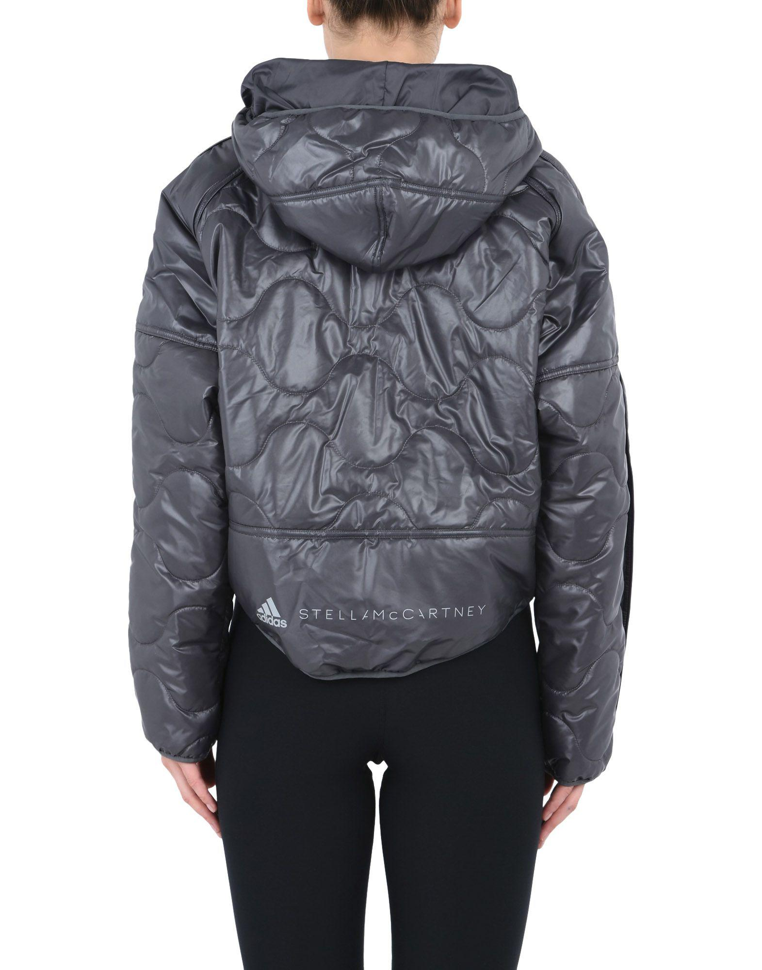6b7775540a5e Lyst - adidas By Stella McCartney Synthetic Down Jacket in Gray
