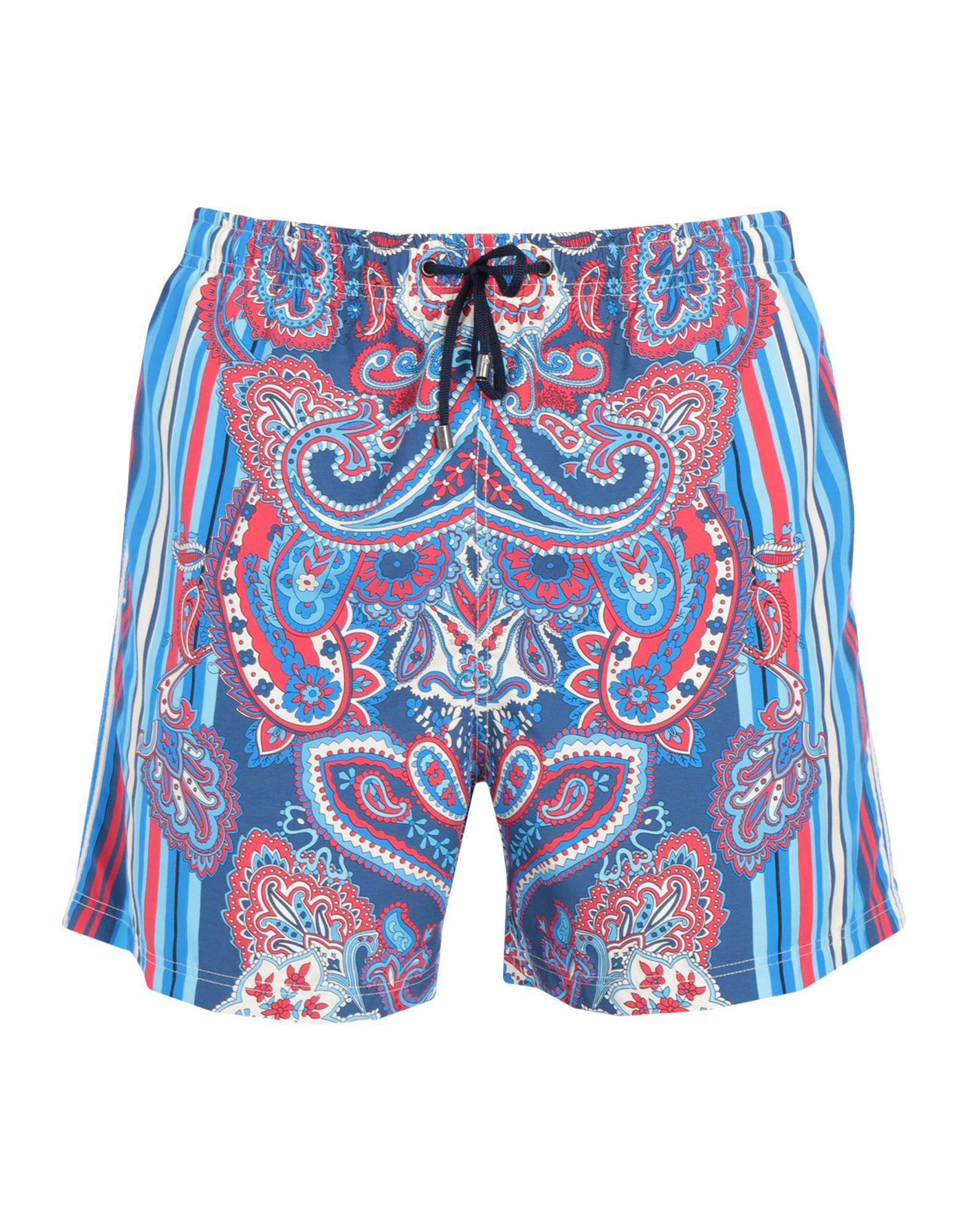 f7c264d60285a Lyst - Zimmerli Swim Trunks in Blue for Men