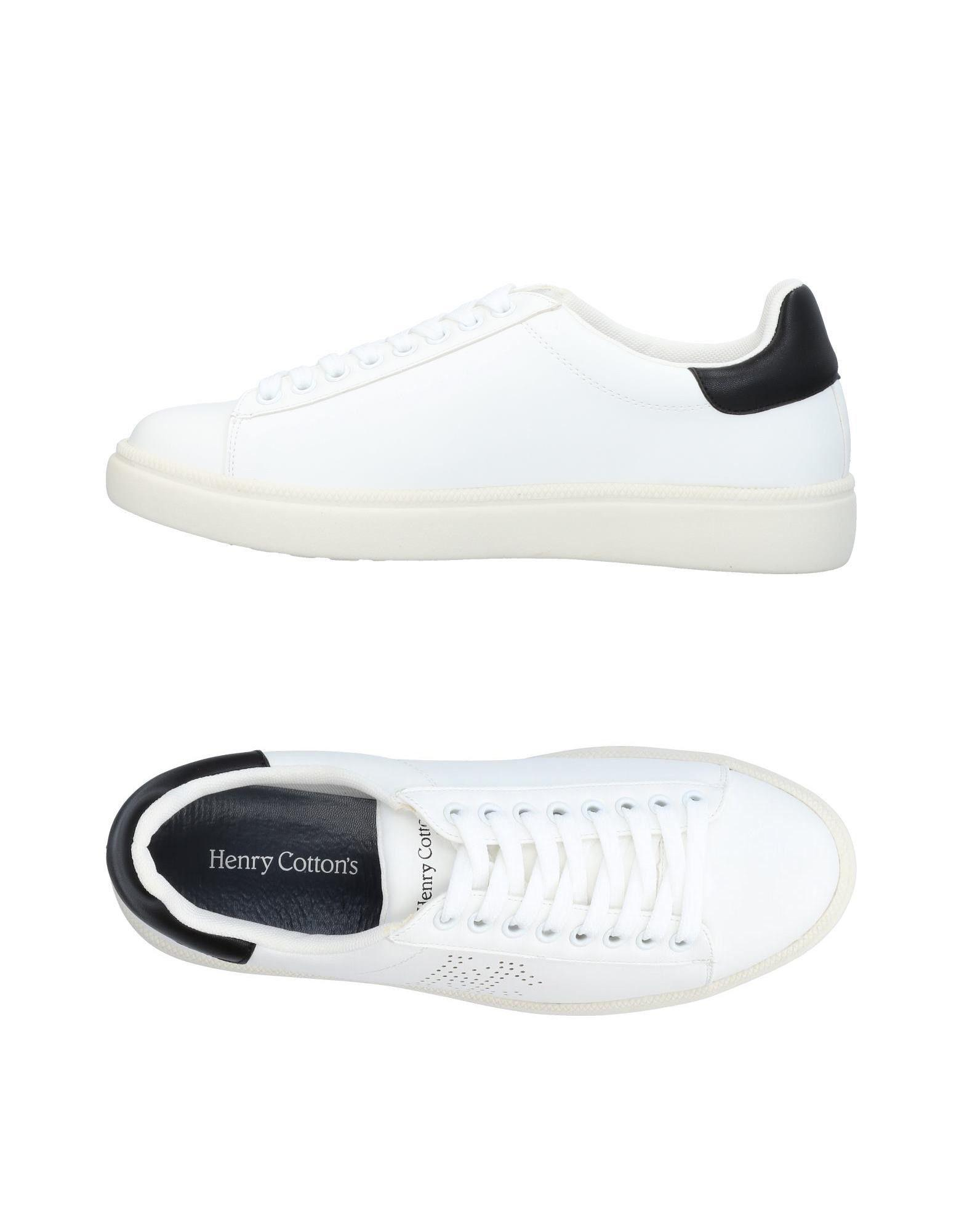 Bas-tops Et Chaussures De Sport De Coton Henry p8hkV40kD