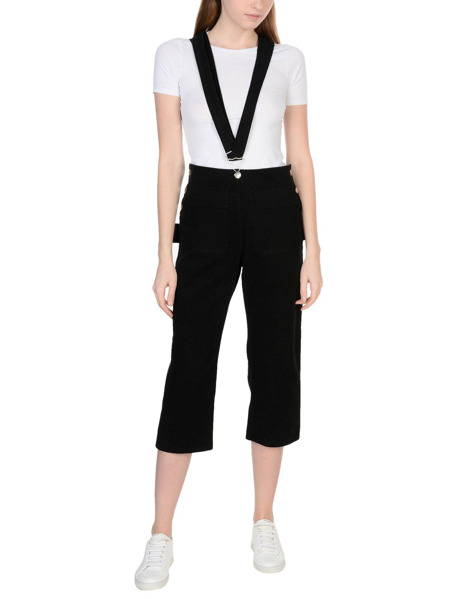 Black and White Trompe LOeil Jumpsuit Maison Martin Margiela Top Quality Online Hot Sale Sale Online Pay With Visa Online How Much VTp748tmX