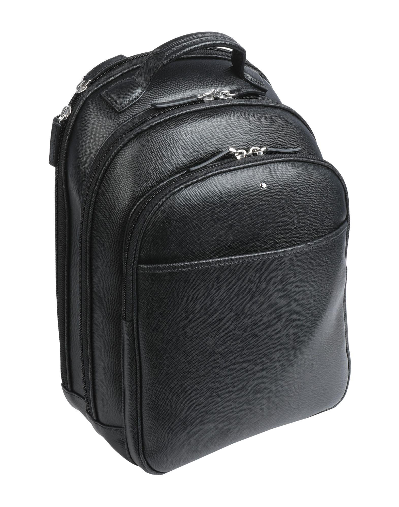 7143ea6bf236 Montblanc - Black Backpacks   Bum Bags for Men - Lyst. View fullscreen
