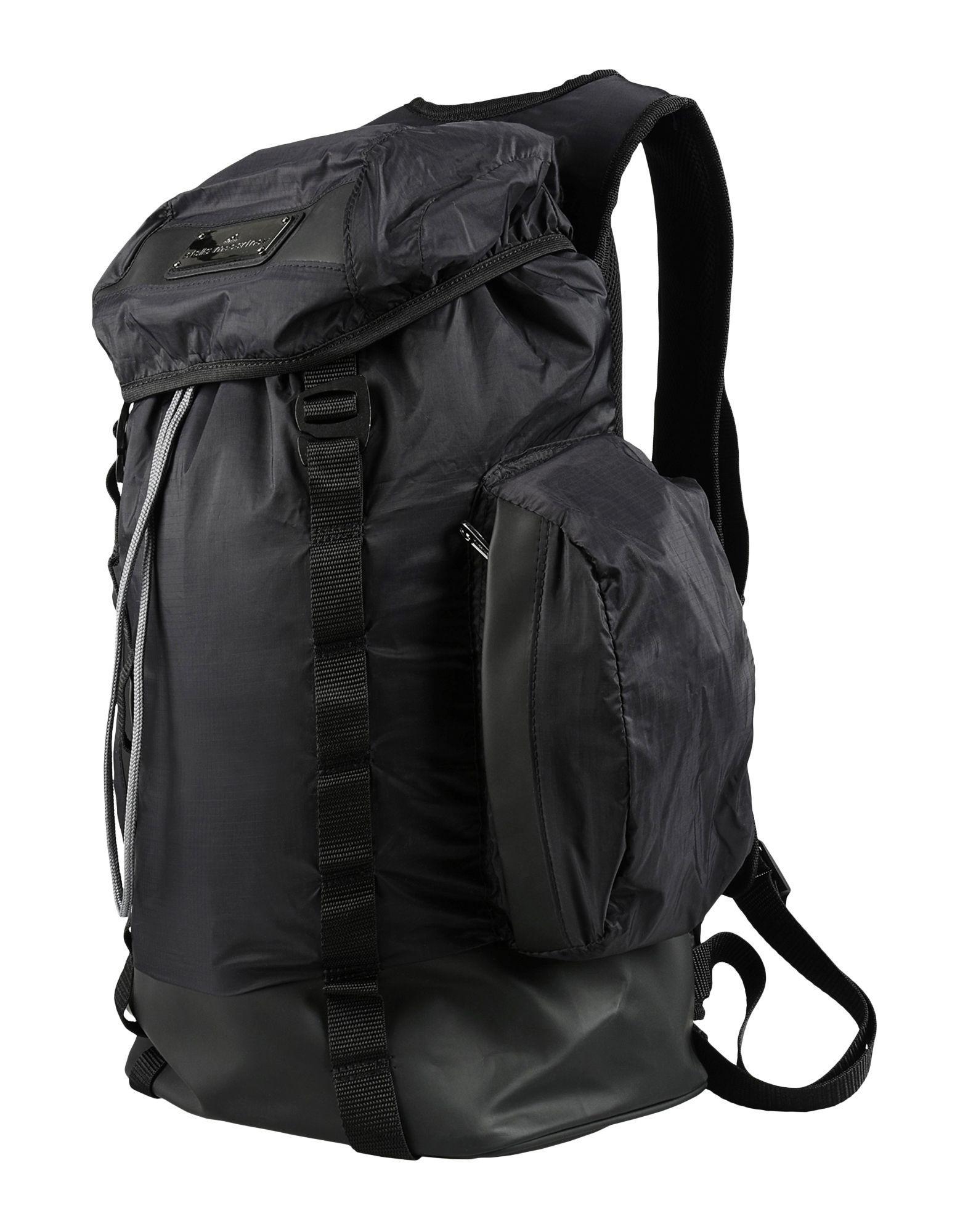 Lyst - adidas By Stella McCartney Backpacks   Bum Bags in Black 63f50a97fa48a