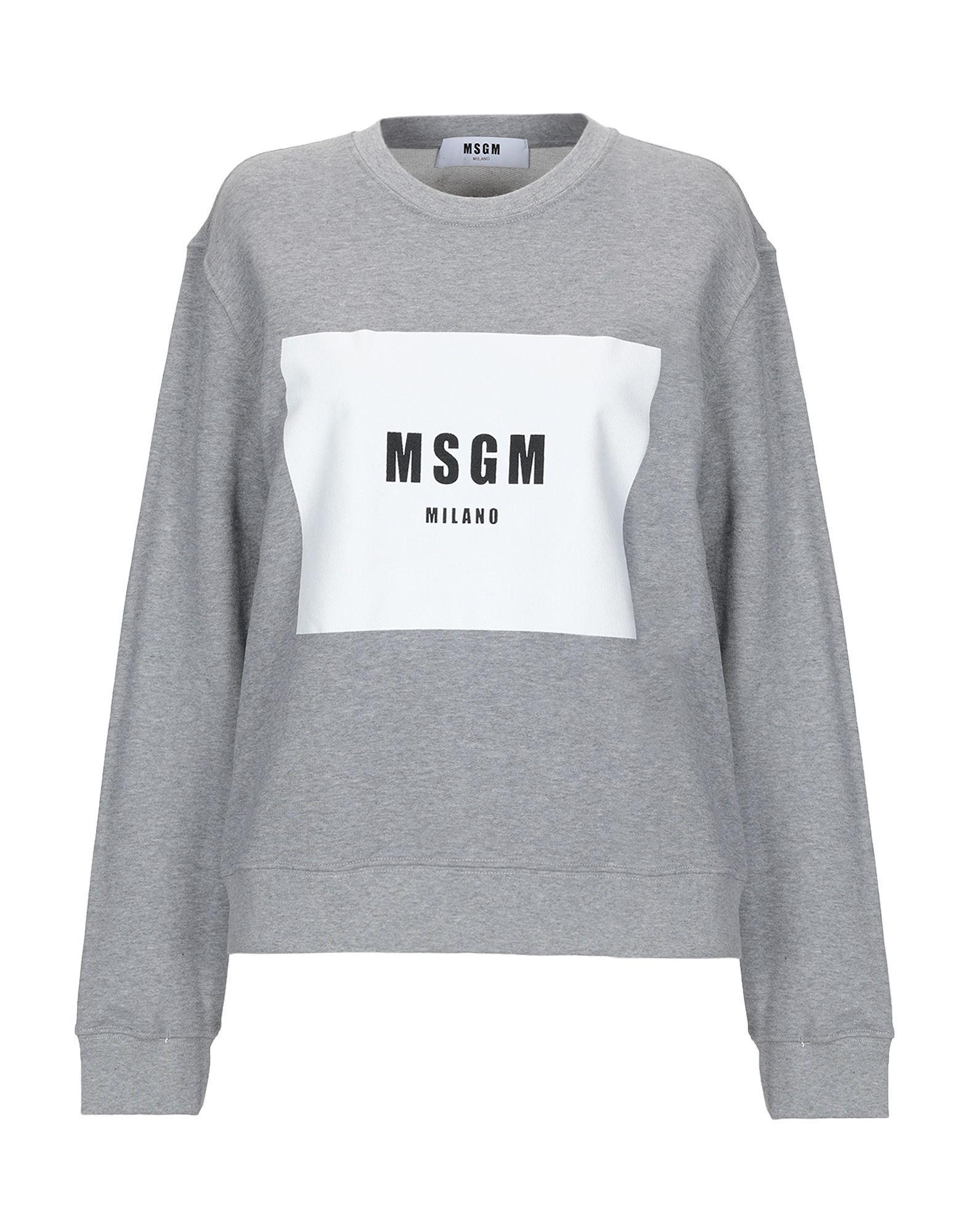 406b381b4f MSGM - Gray Sweatshirt - Lyst. View fullscreen