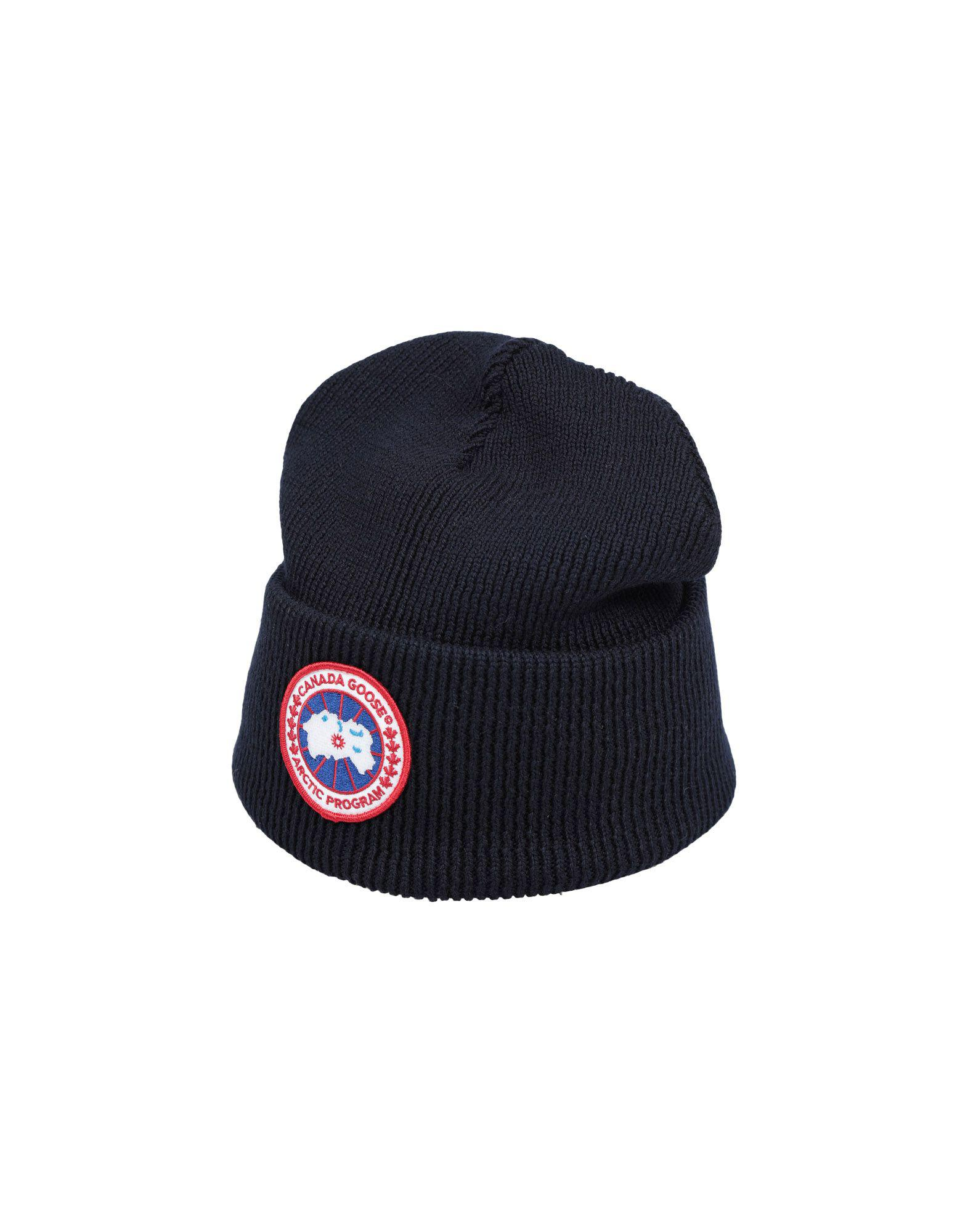 3ddd58f735f Lyst - Canada Goose Hat in Blue for Men