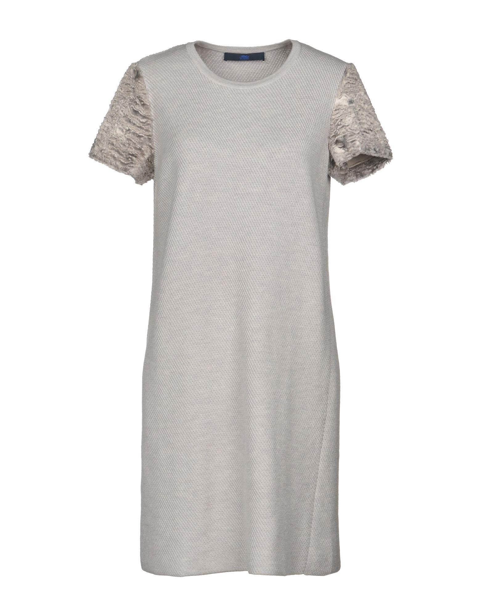 Lyst Blue Les In Gray Short Copains Dress 8PqB8