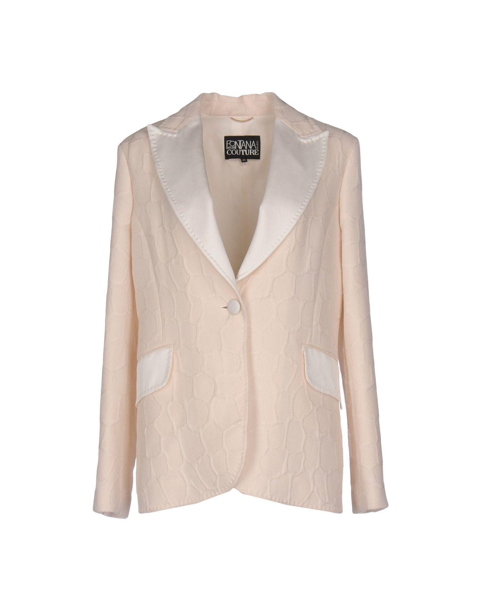 SUITS AND JACKETS - Blazers Fontana Couture Newest Sale Online In China Cheap Price k2oUC