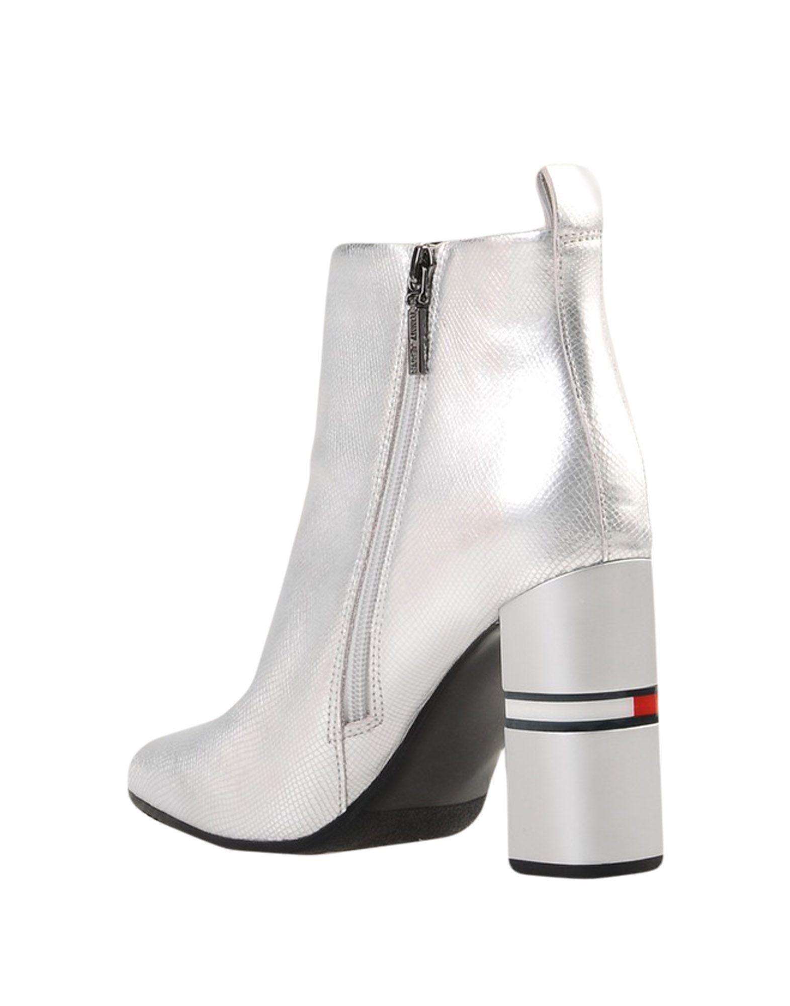 ecb7a3265dff Lyst - Tommy Hilfiger Ankle Boots in Metallic