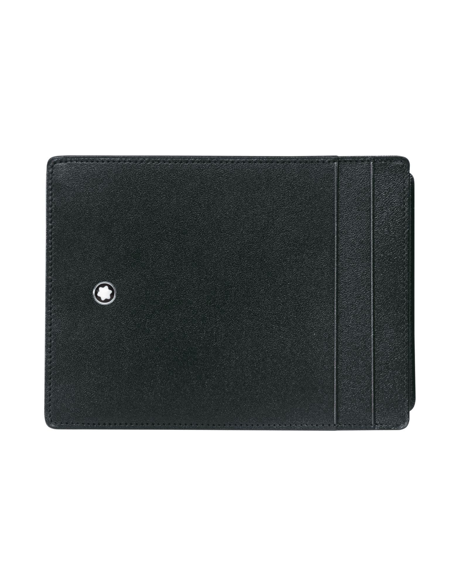 76525e6ae Montblanc - Black Billetera for Men - Lyst. Ver en pantalla completa