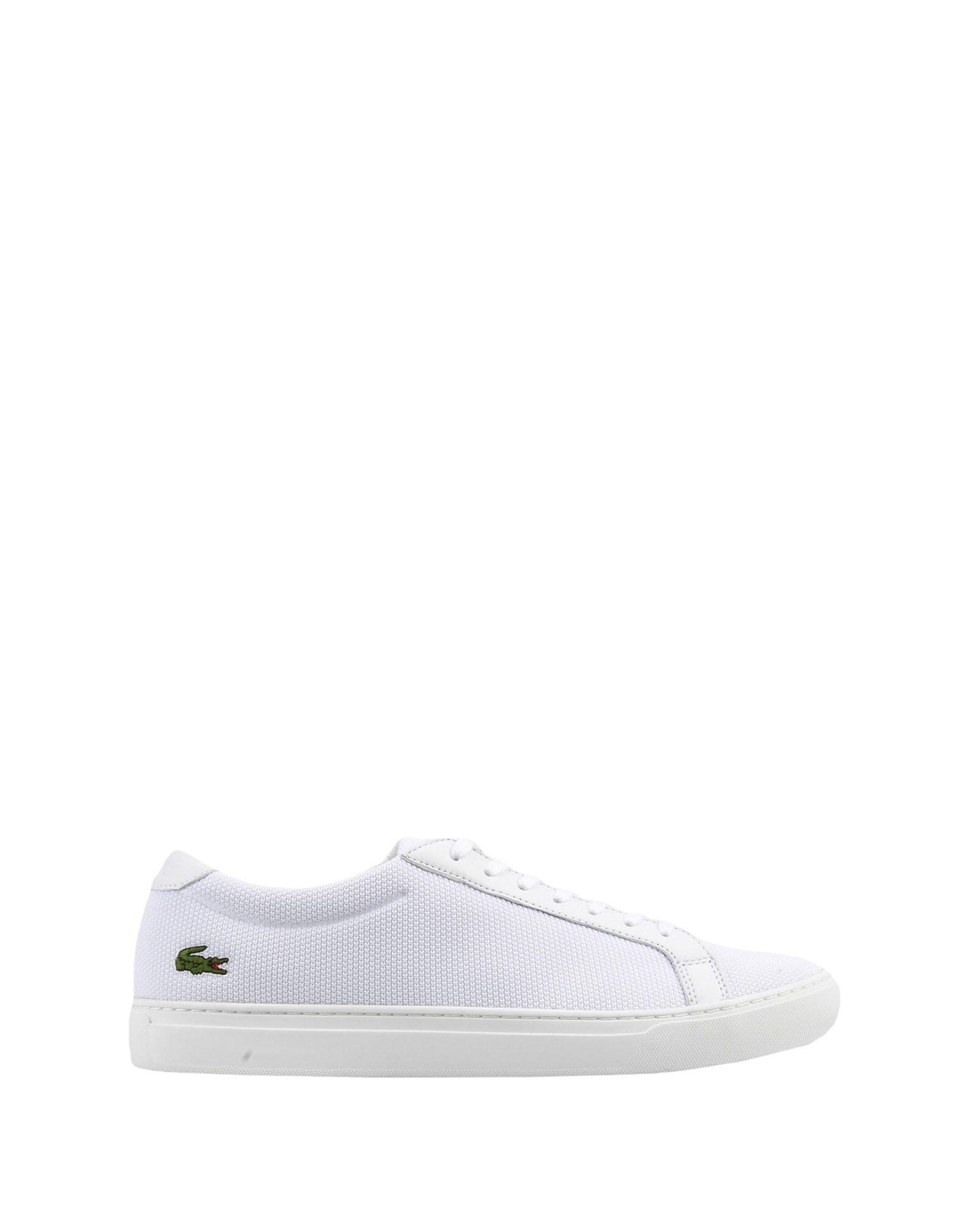774af1251 Lyst - Lacoste Low-tops   Sneakers in White for Men - Save 2%