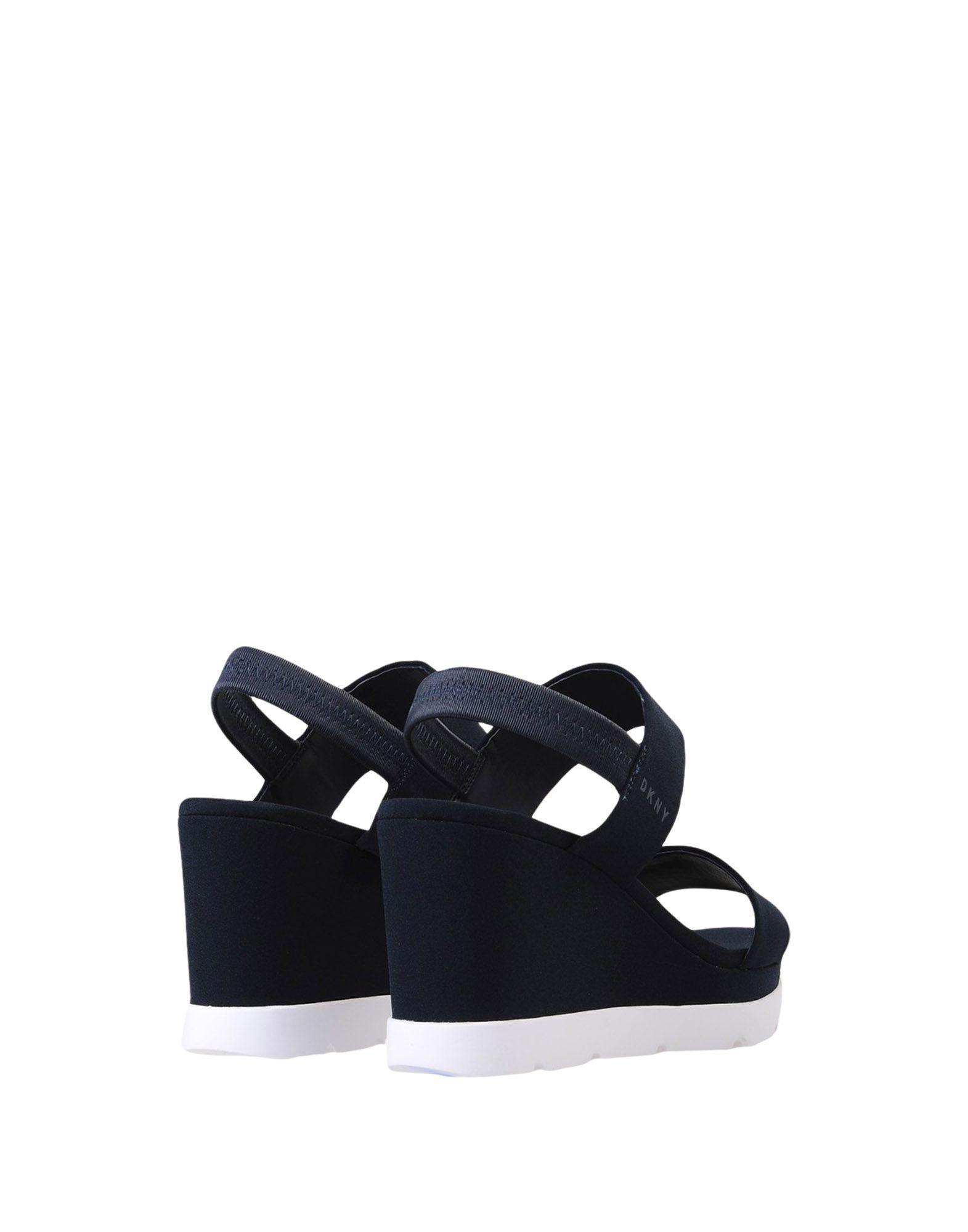 8e695f3c8feb Dkny Sandals in Blue - Lyst