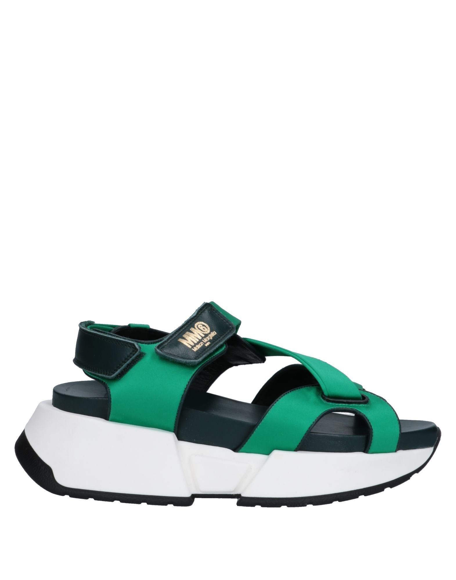 9dac5dcafb3e Lyst - MM6 by Maison Martin Margiela Sandals in Green
