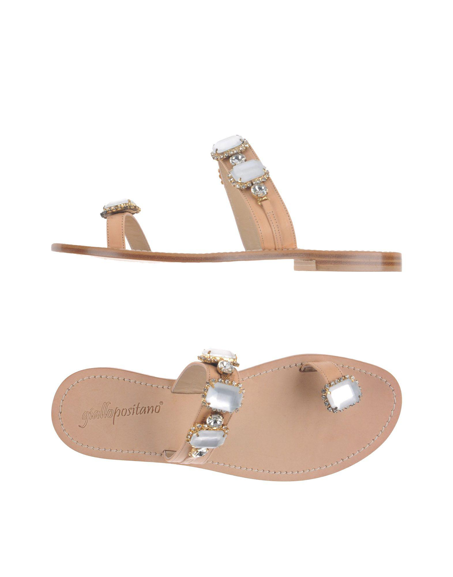 FOOTWEAR - Toe post sandals Giallo eAzcVO