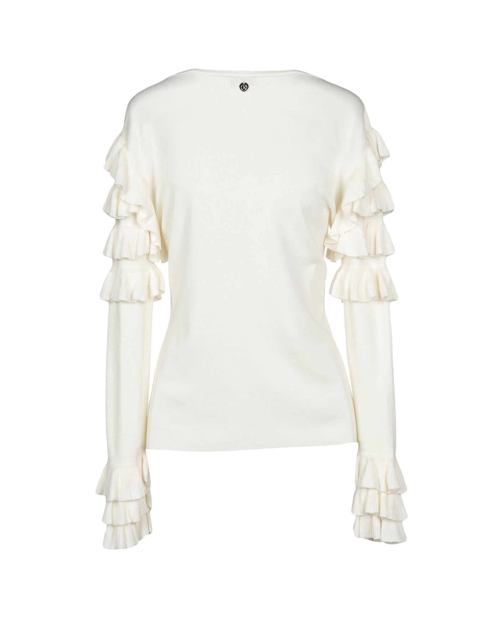 En Pullover Coloris Blanc Relish Lyst gb6yY7f