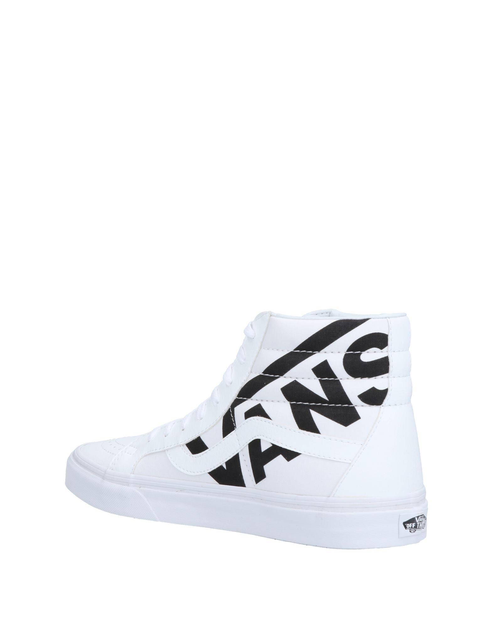 affeefbf11160e Lyst - Vans High-tops   Sneakers in White for Men - Save 47%