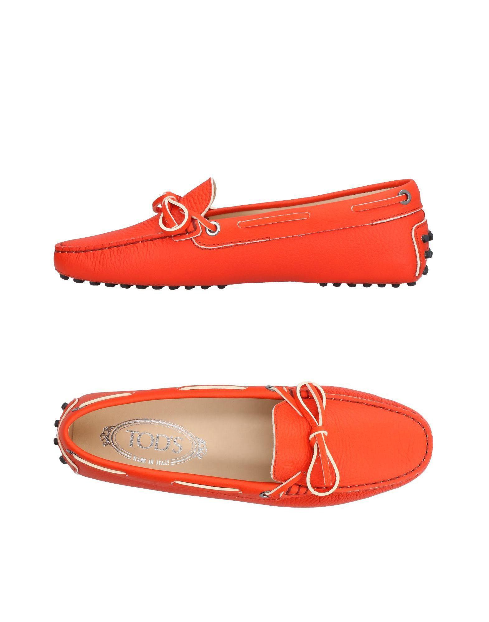 Lyst - Tod s Loafer in Red - Save 6% 0a50e115f7ebe