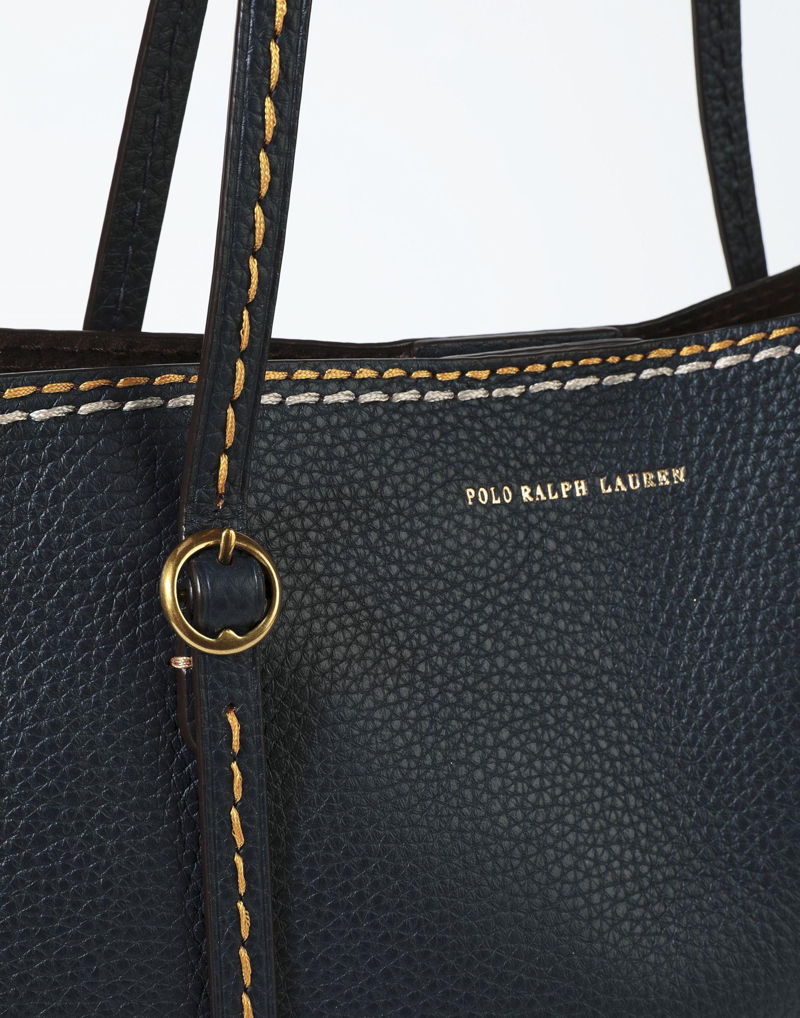 fb6f2908cae3 ... cheap polo ralph lauren handbag in blue lyst aeee5 ff053
