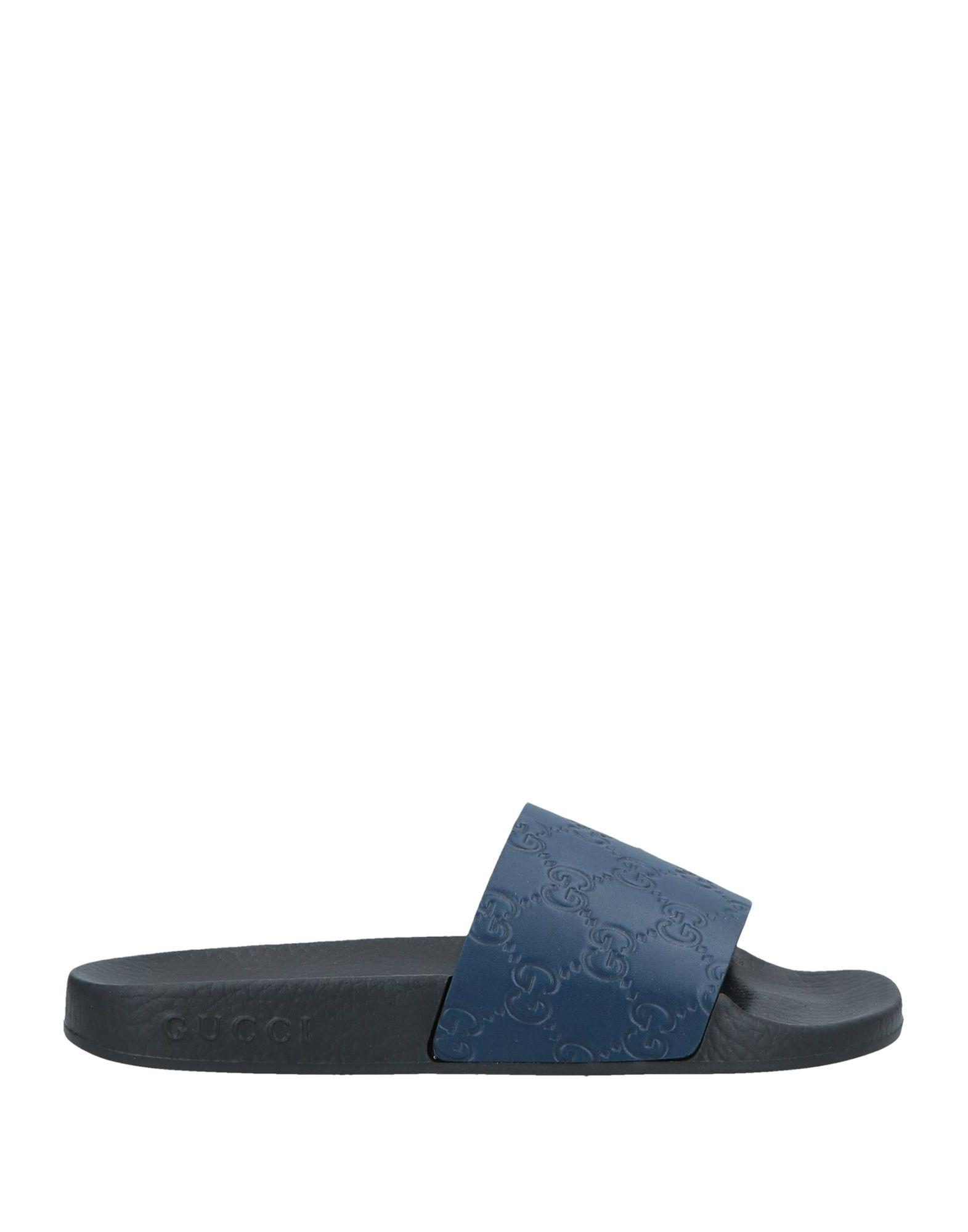 5b70fccbb8e Lyst - Gucci Sandals in Blue - Save 38%