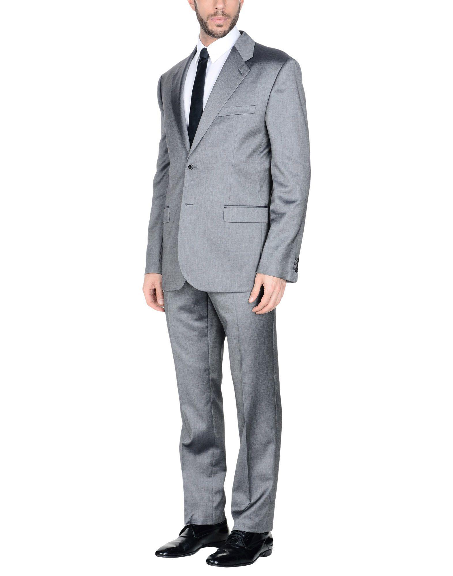 ee188c926ae9 Lyst - Costume Versace pour homme en coloris Gris