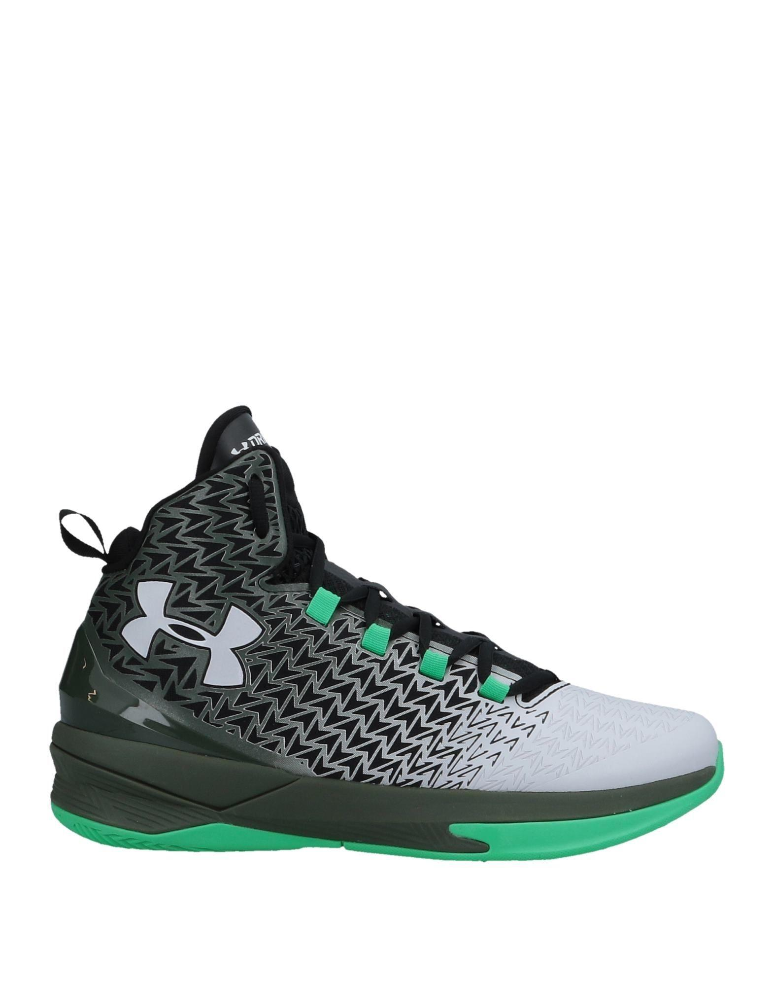 Lyst - Under Armour High-tops   Sneakers in Green for Men a1dc3b840de3