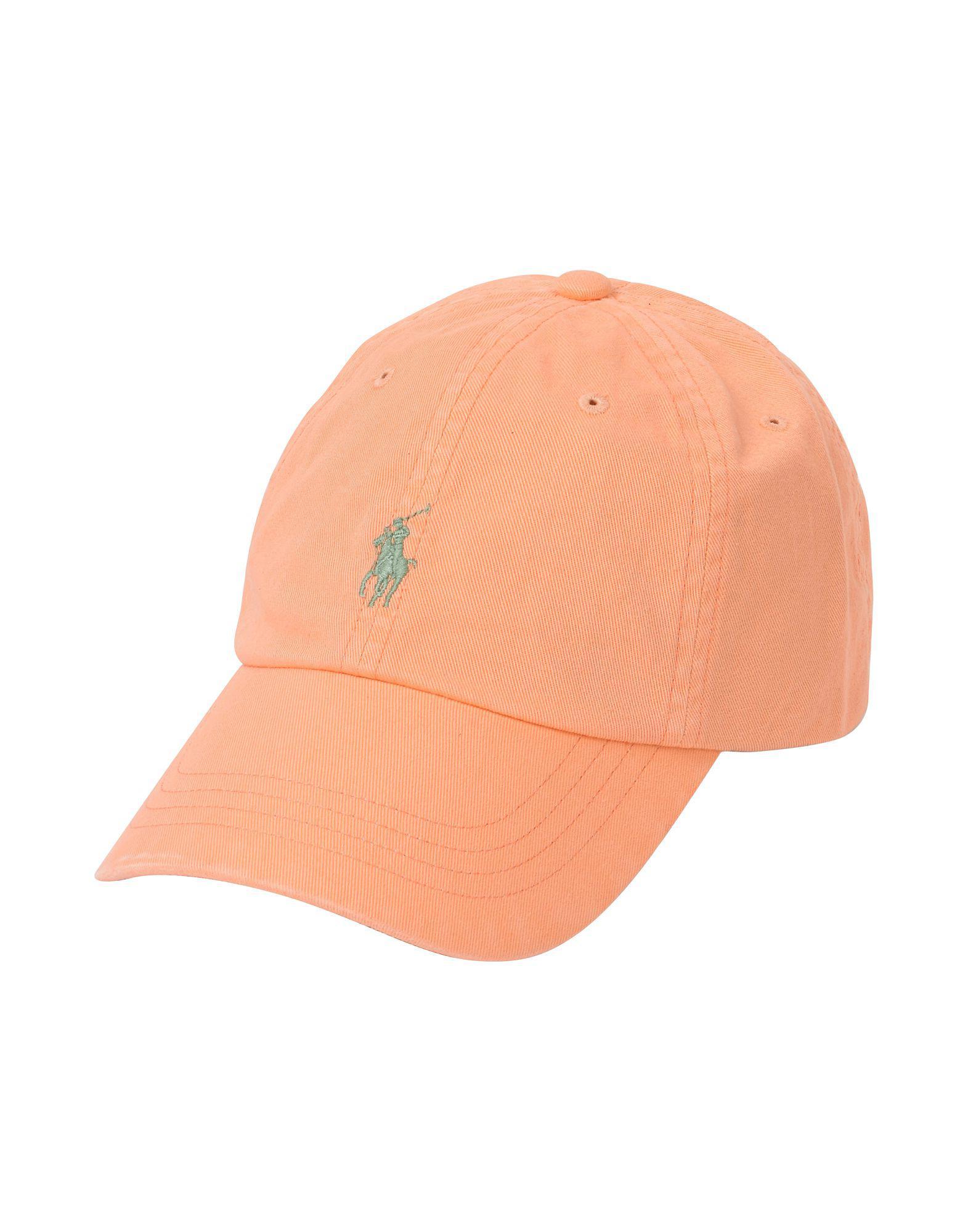 fb4aedd2f73b Lyst - Chapeau Polo Ralph Lauren pour homme en coloris Orange