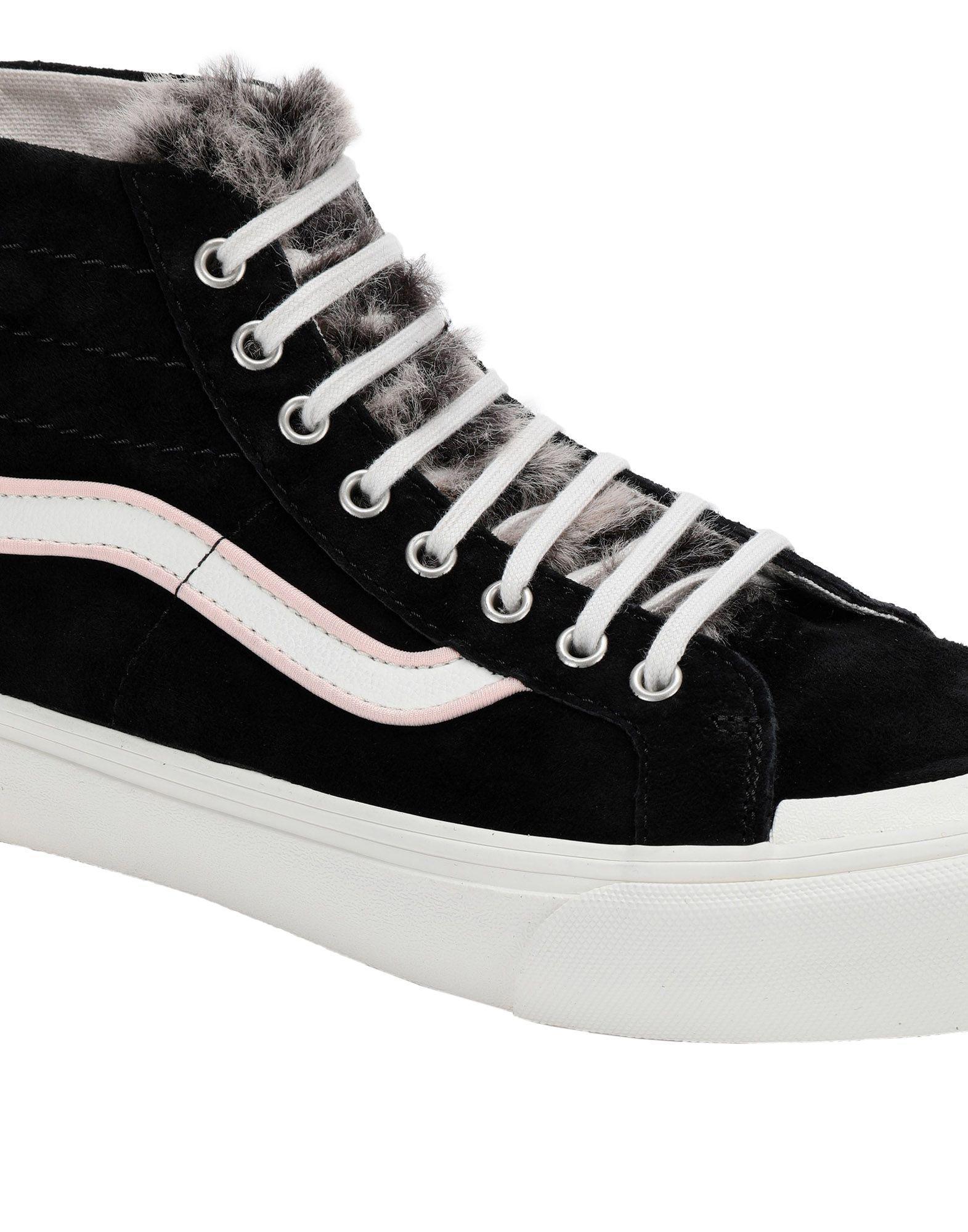 c6b142407dc7fb Vans High-tops   Sneakers in Black - Lyst