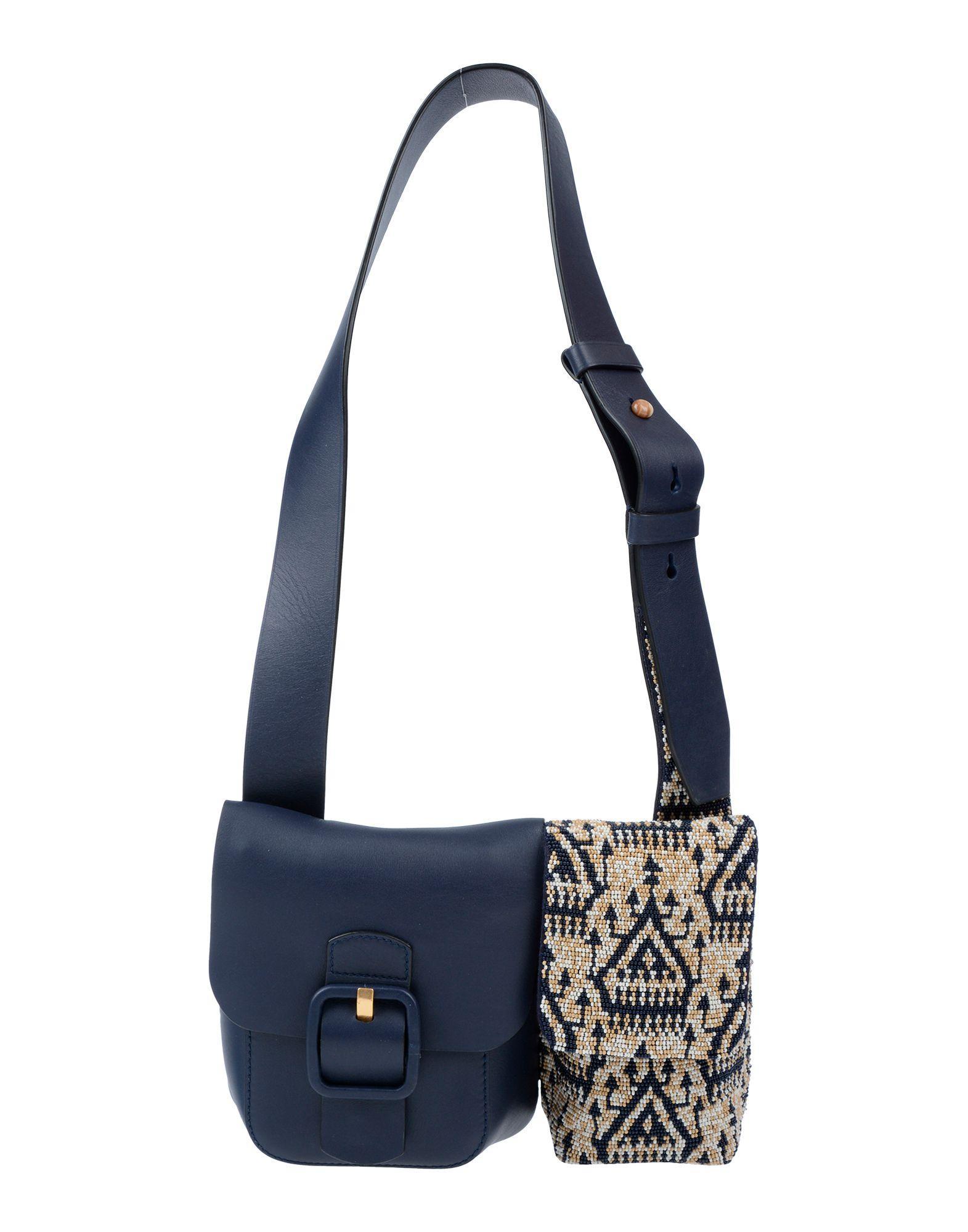 0c3dd47158fd Lyst - Tory Burch Shoulder Bag in Blue