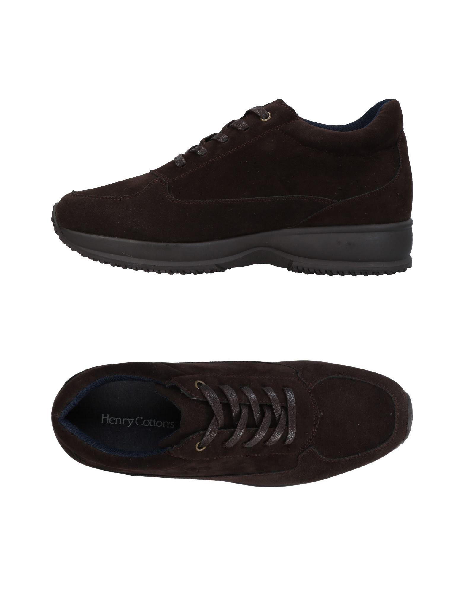 Bas-tops Et Chaussures De Sport De Coton Henry IoD5O6