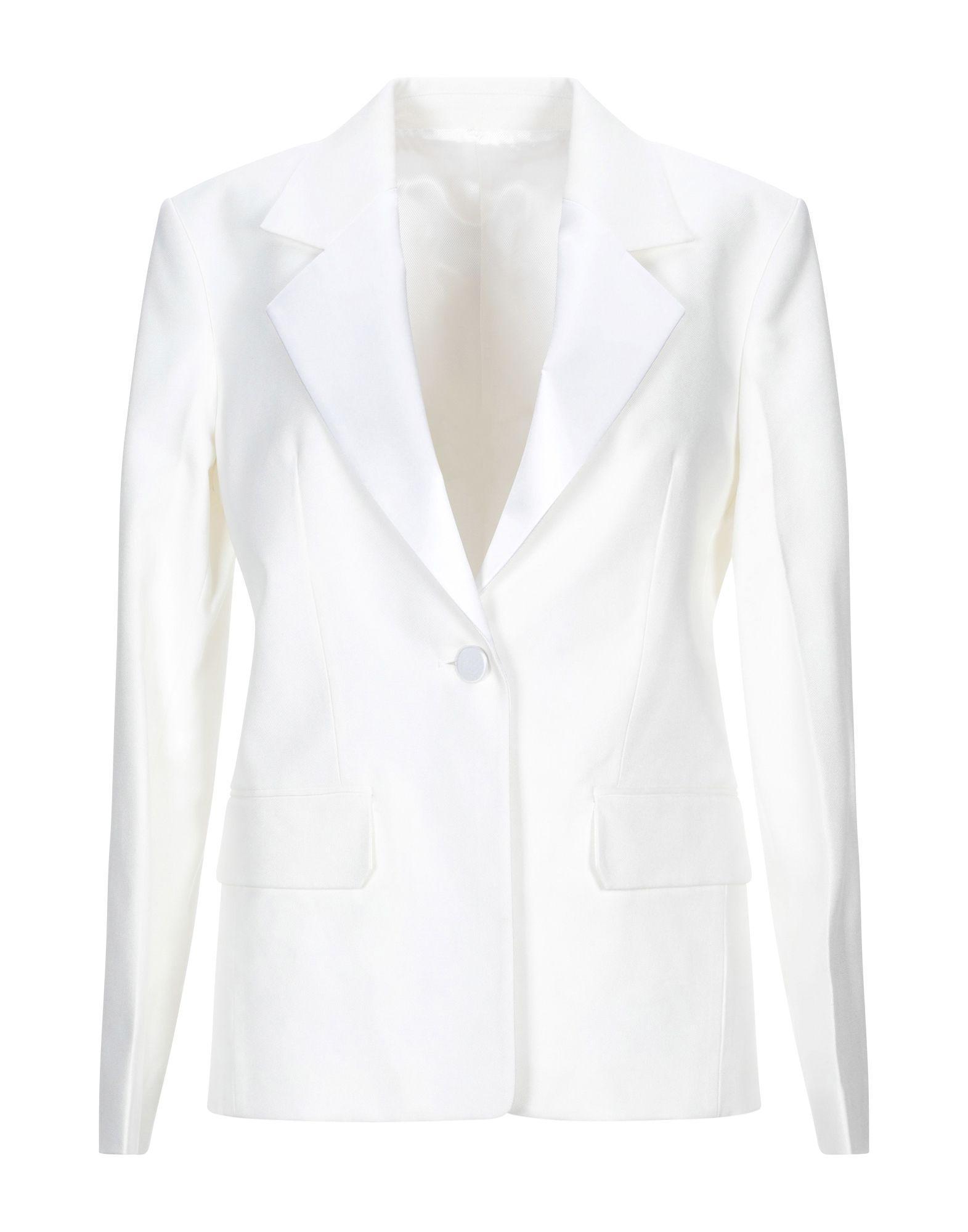 6e275003d3da Lyst - Helmut Lang Blazer in White