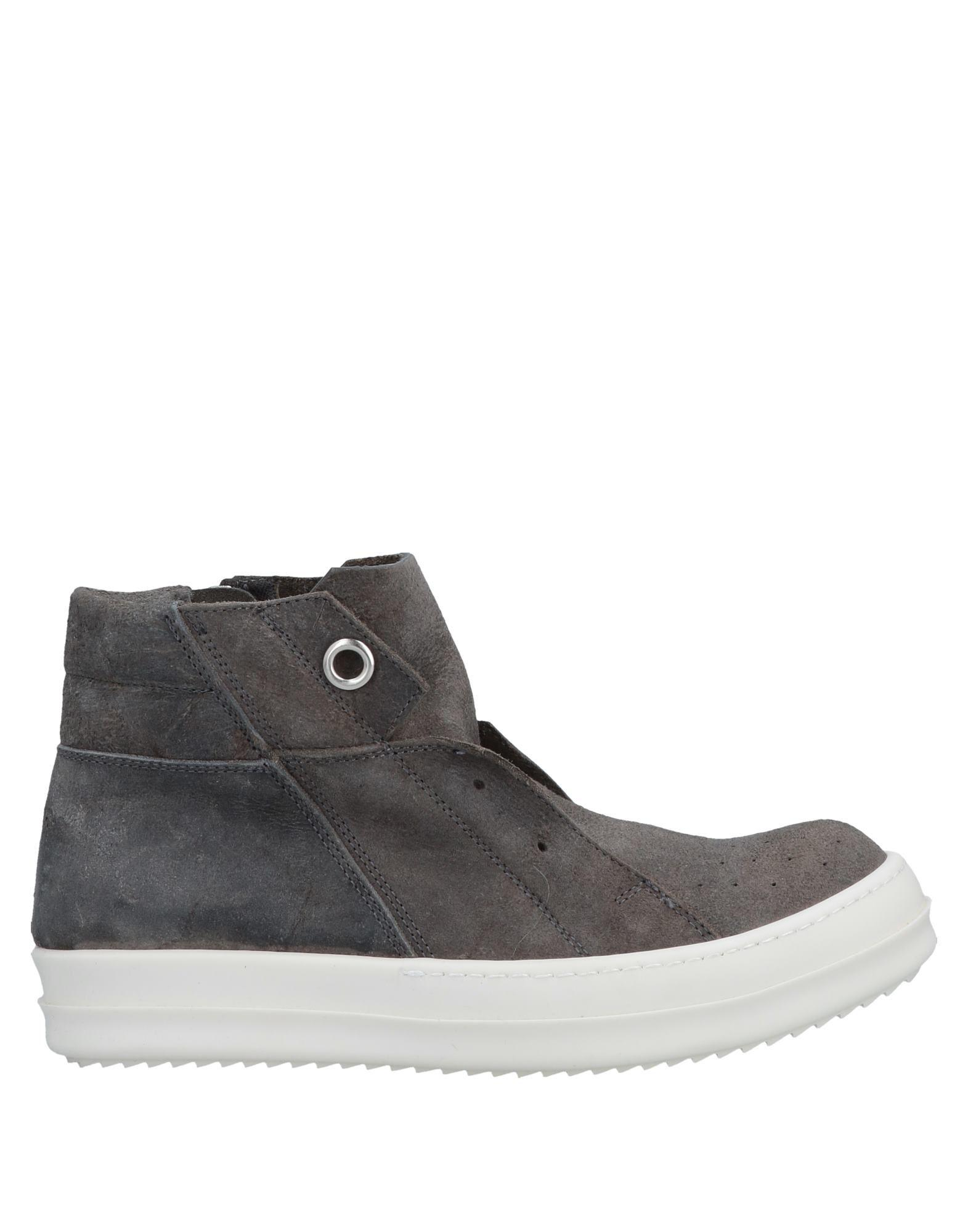 e14d267991ad Lyst - Rick Owens High-tops   Sneakers in Gray