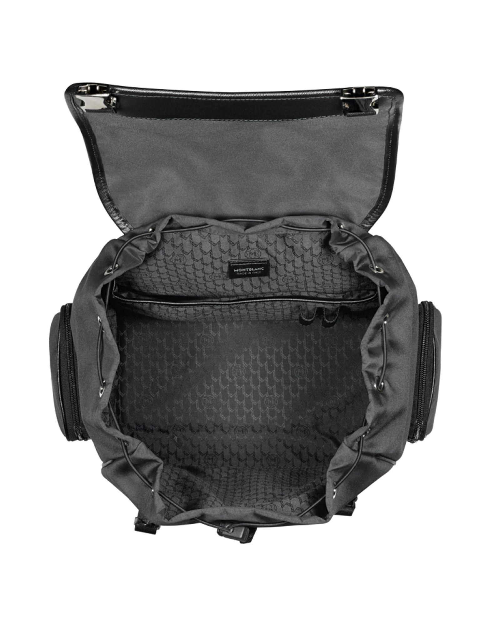 169fc5b7f4eb Montblanc Backpacks   Bum Bags in Black for Men - Save 7% - Lyst