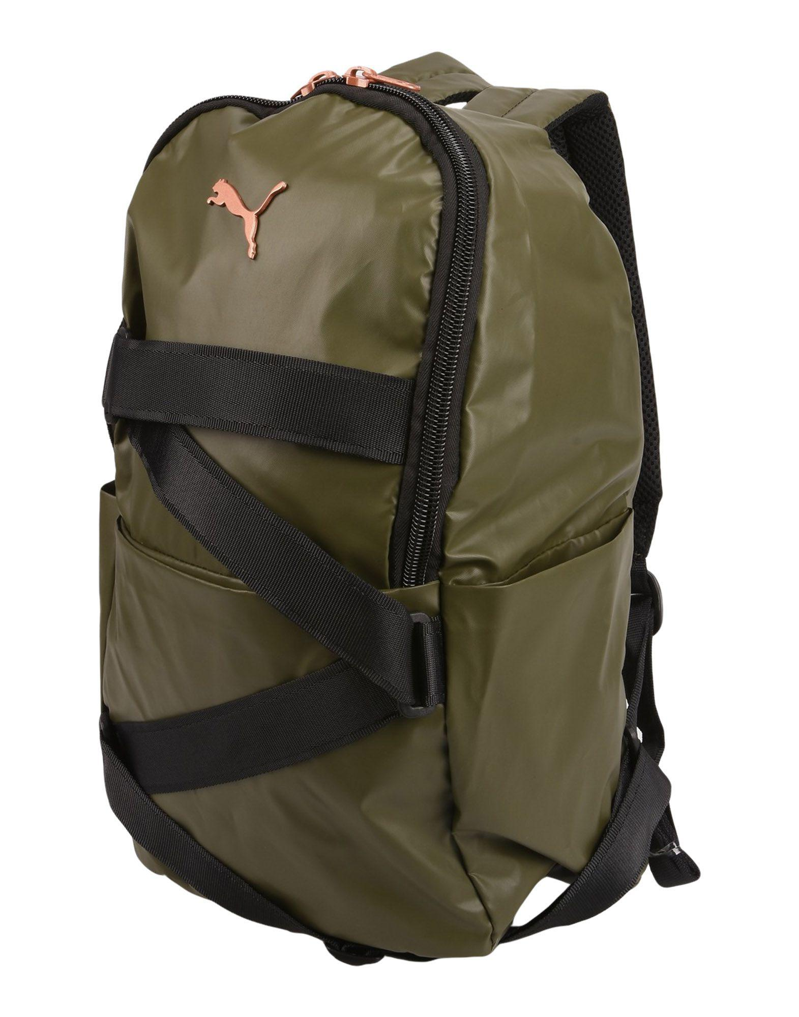 9933cc4619 PUMA Backpacks   Bum Bags in Green - Lyst