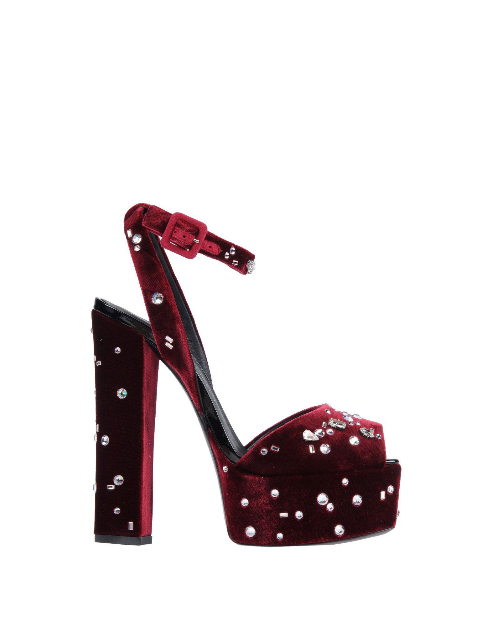 c1da4e4e68e Lyst - Giuseppe Zanotti Lavinia Swarovski Crystal Platform Sandals - Save  50%