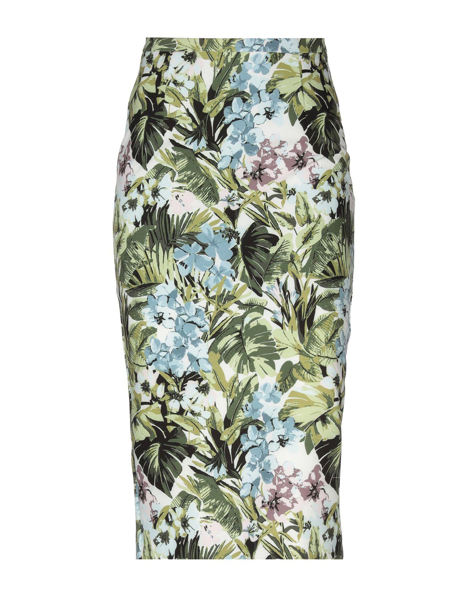 c9160616e0 Lyst - Pinko 3 4 Length Skirt in Green