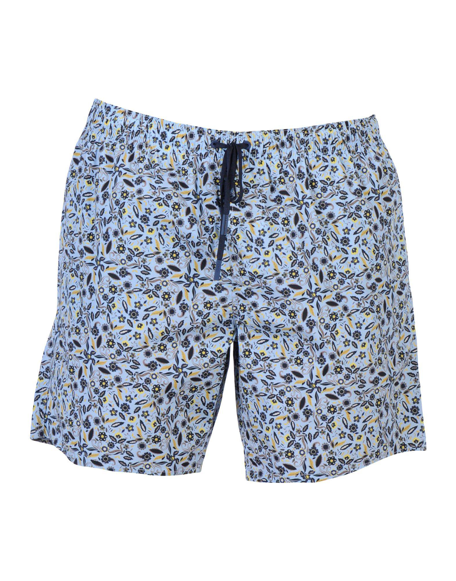 5ec52bd61f Lyst - Fendi Swimming Trunks in Blue for Men