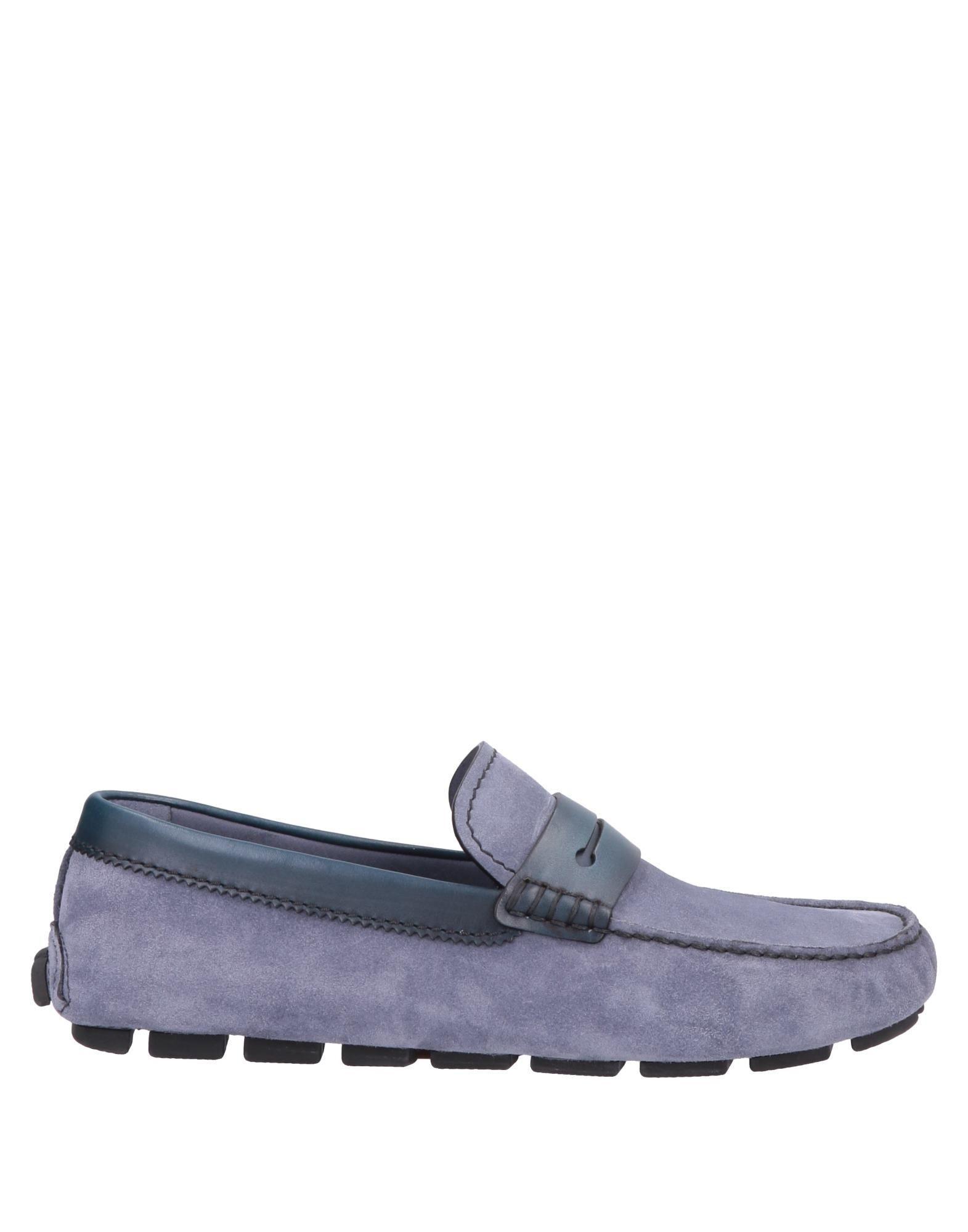 ebd6924afb5 Lyst - Ermenegildo Zegna Loafer in Blue for Men