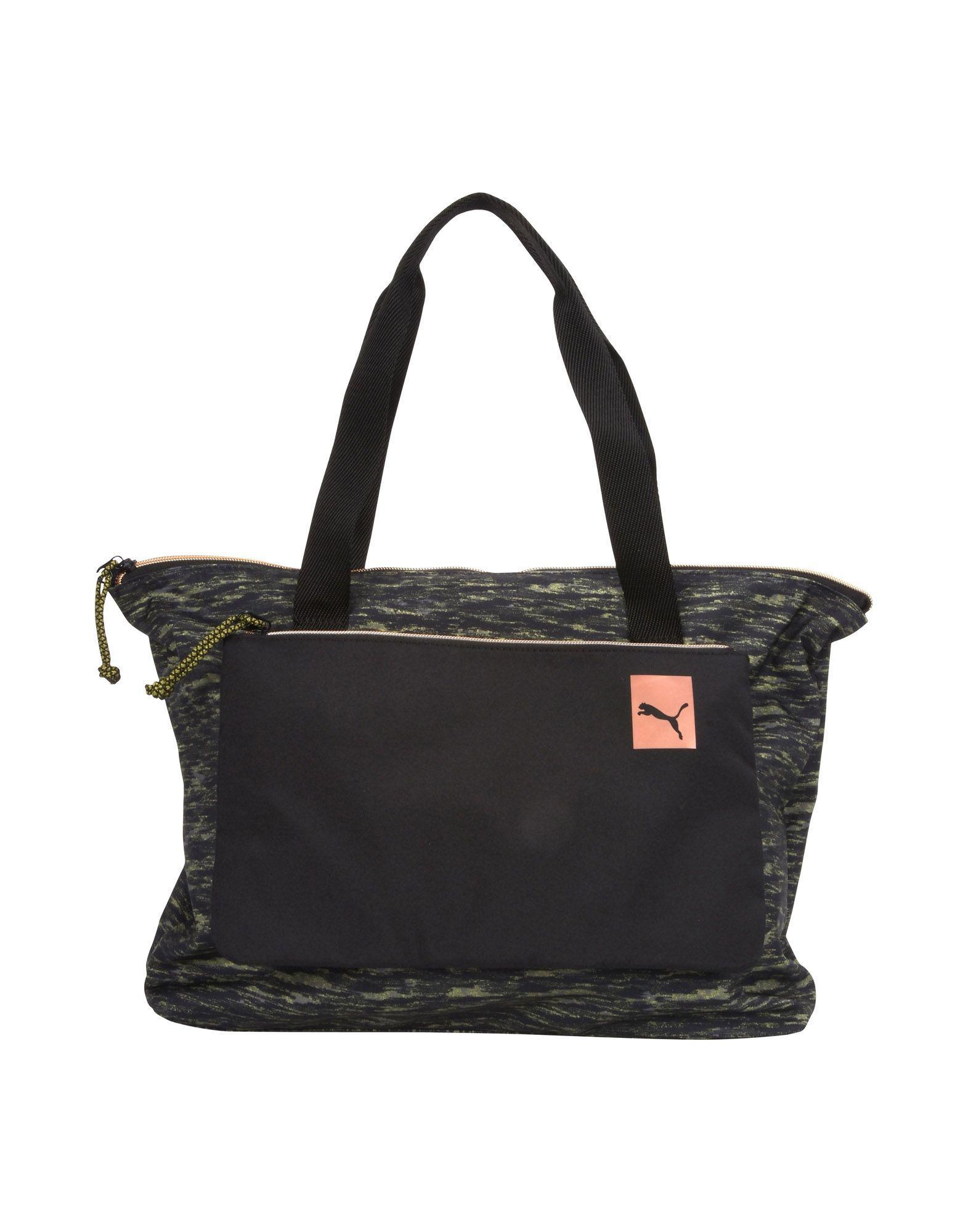 3ae43a1a45 Lyst - Puma Handbag in Black