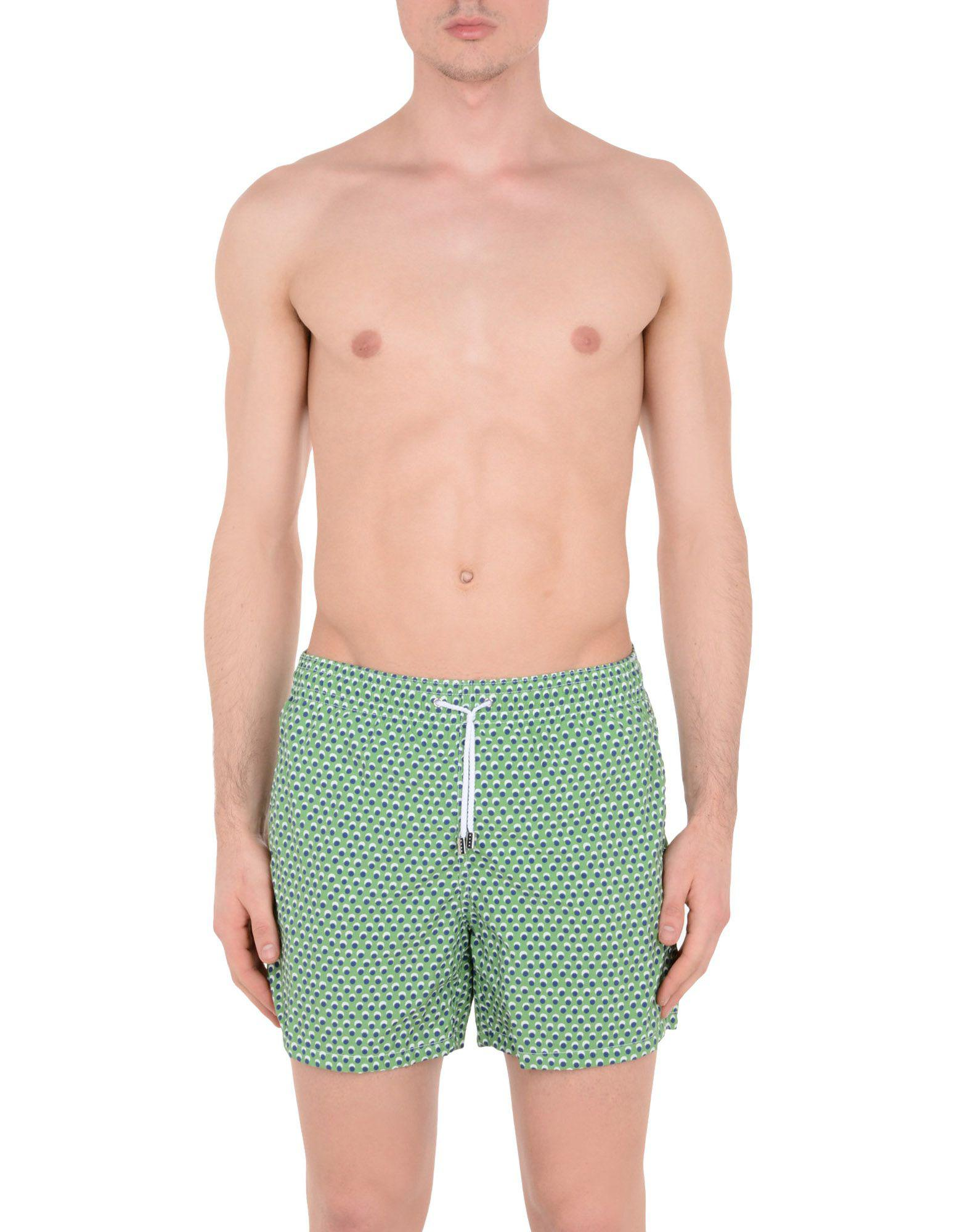 9f1e015a7b Roda At The Beach Swimming Trunks in Green for Men - Lyst