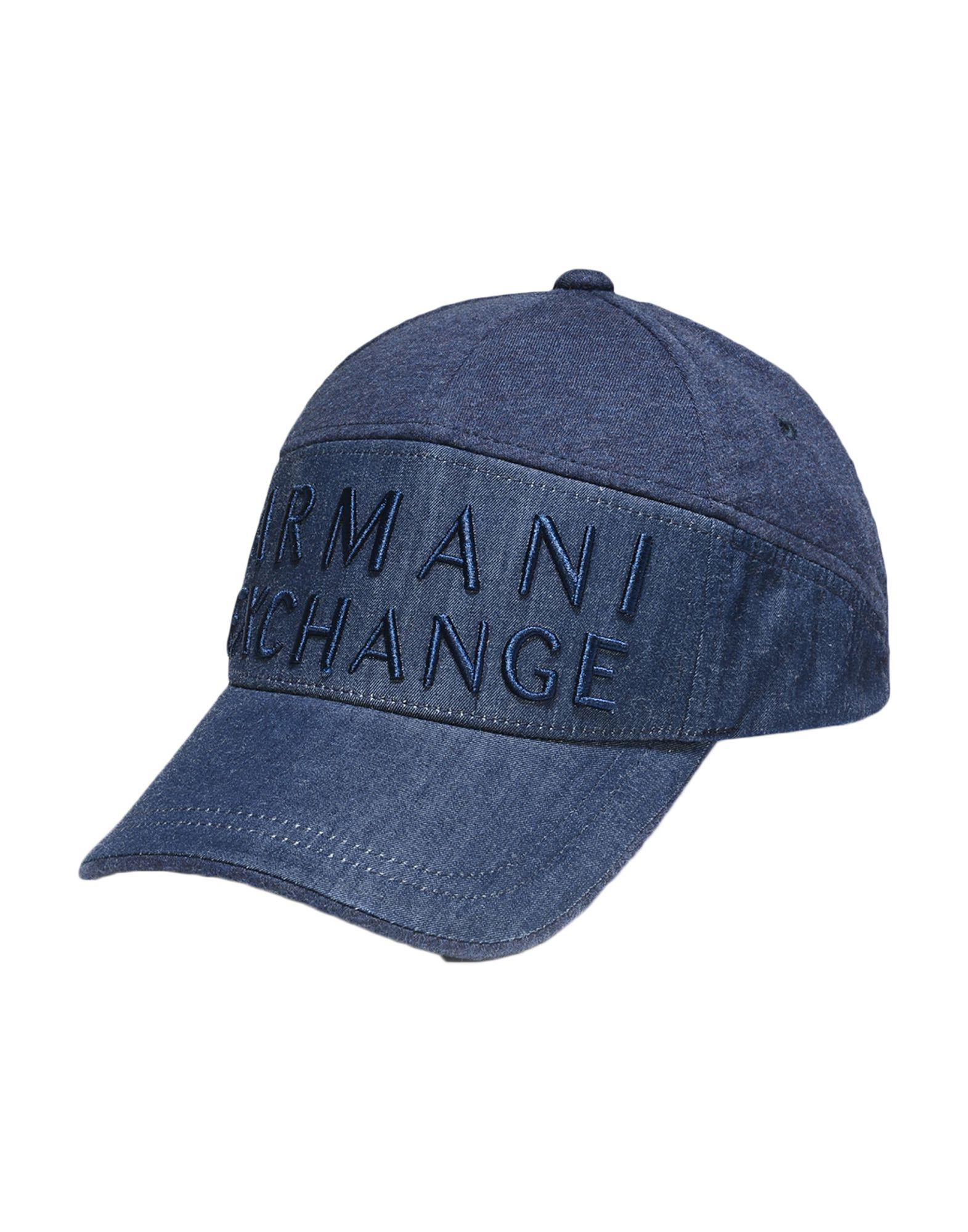 84ccb447951 Lyst - Armani Exchange Hat in Blue for Men