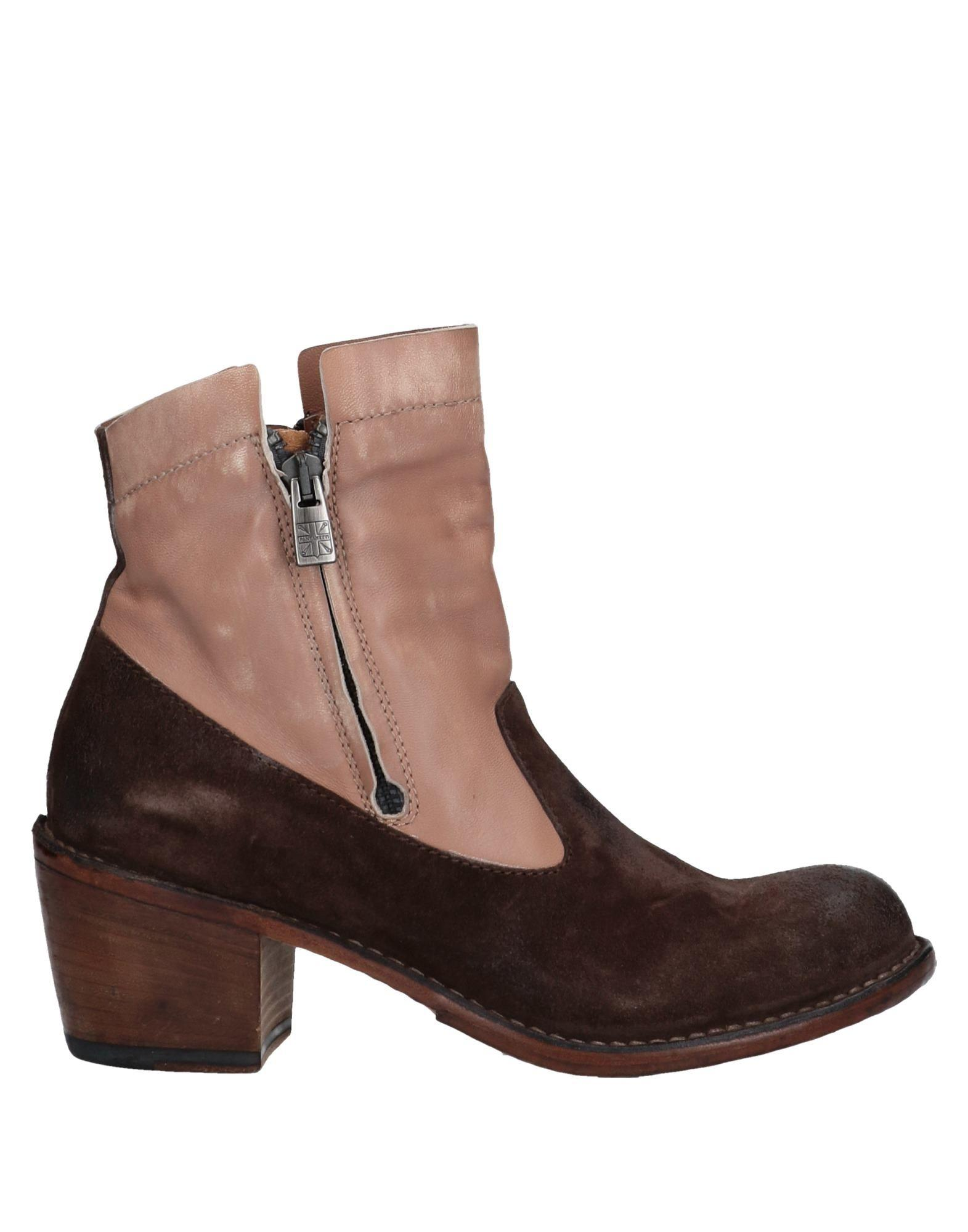 48231aa14a944 Lyst - Pantanetti Ankle Boots in Brown
