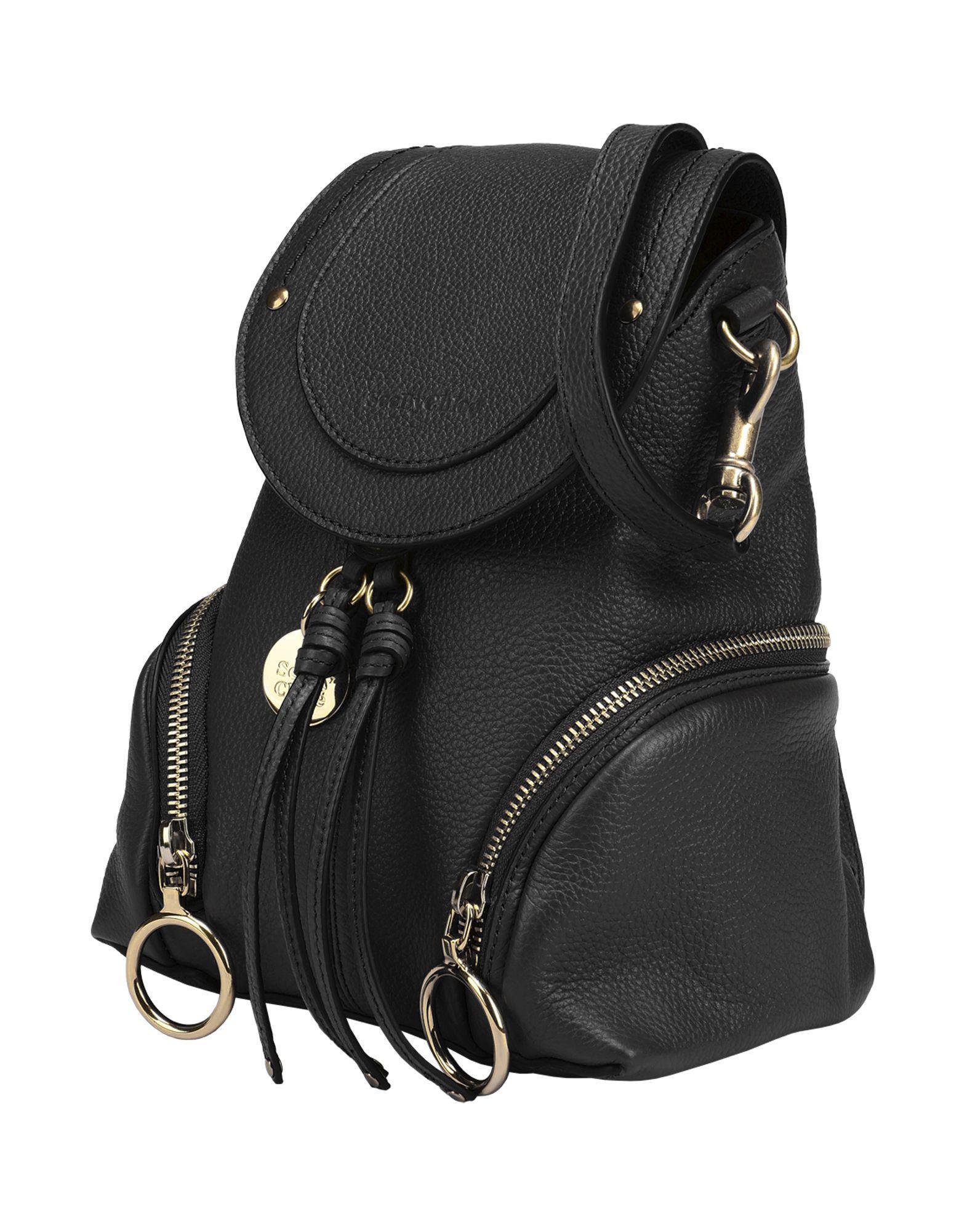 See By Chloé - Black Backpacks   Bum Bags - Lyst. View fullscreen 19ab552a9314d